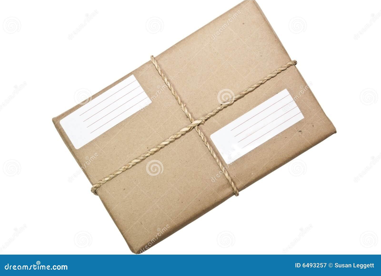 paket paket schnur und kennsatz stockbild bild 6493257. Black Bedroom Furniture Sets. Home Design Ideas