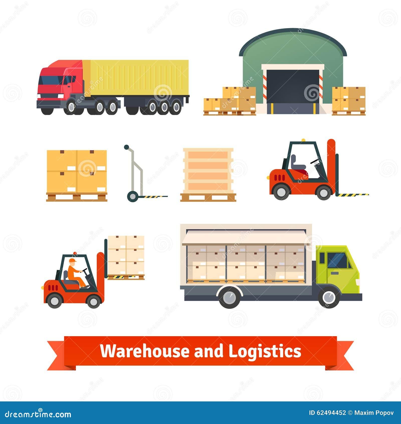 Pakhuisinventaris, logistiekvrachtwagen