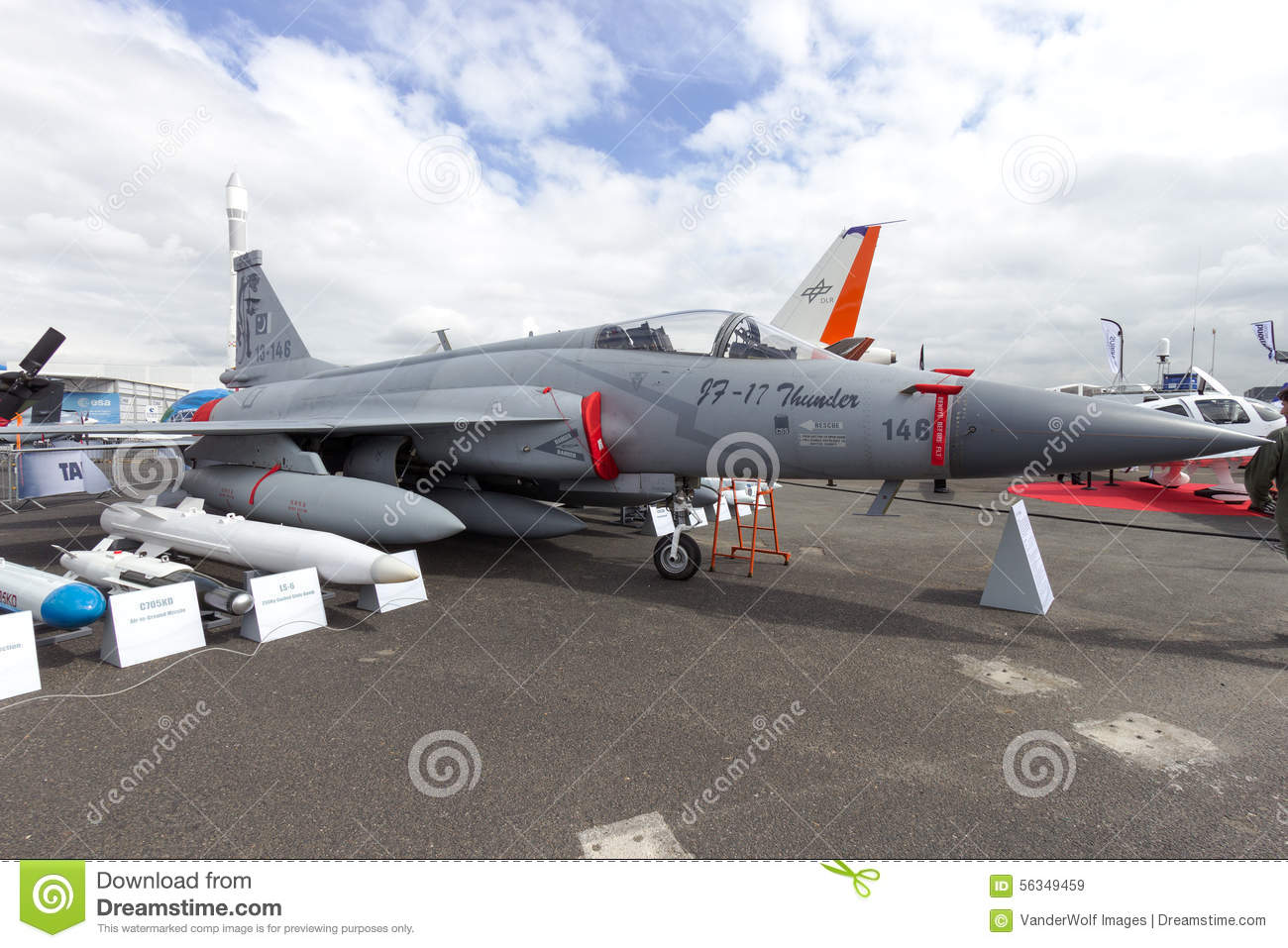 Pakistan JF-17 fighter jet editorial stock image  Image of