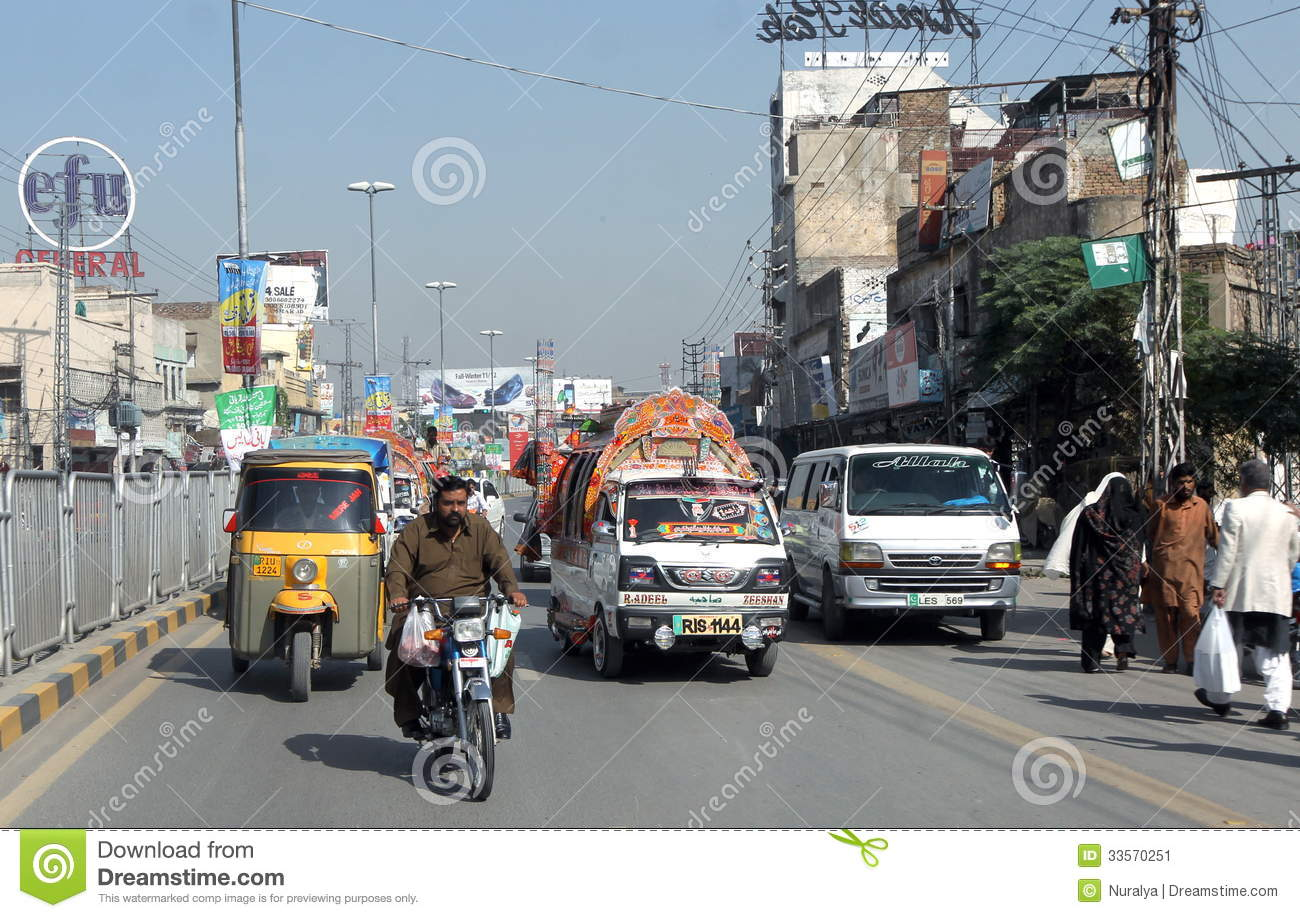 Rawalpindi Pakistan  city pictures gallery : , Pakistan, November 2011. Heavy traffic at Rawalpindi, Pakistan ...