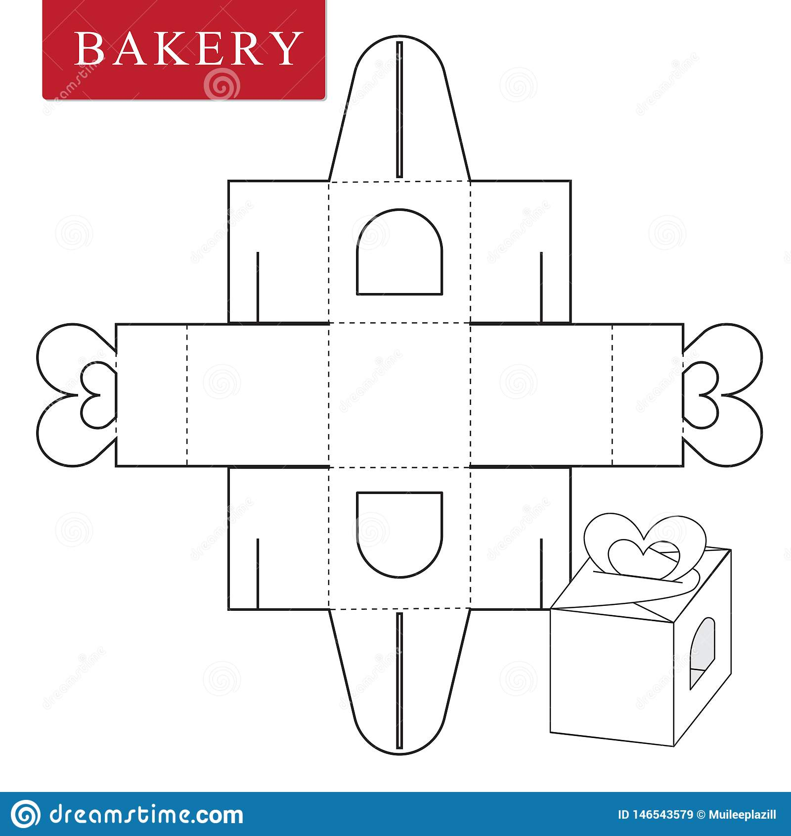 Pakketmalplaatje voor bakkerijvoedsel of Andere punten