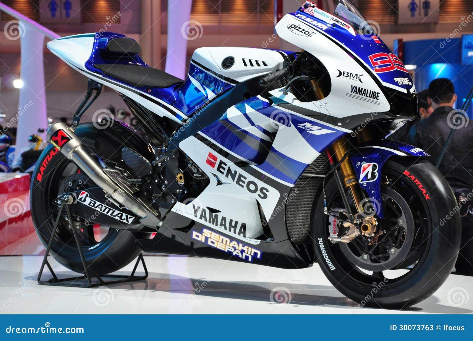 Yamaha m1 yzr presented at bangkok international m for Yamaha motor credit card