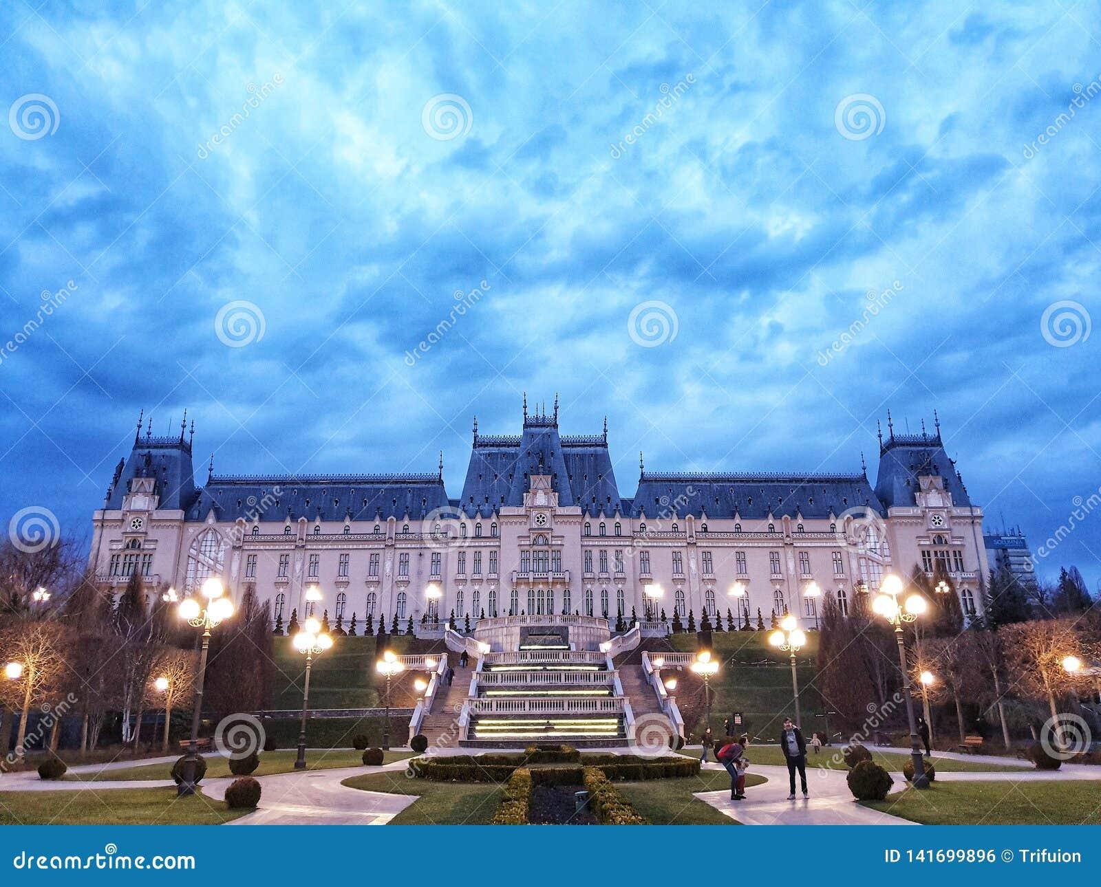 Palácio da cultura de Iasi Romênia