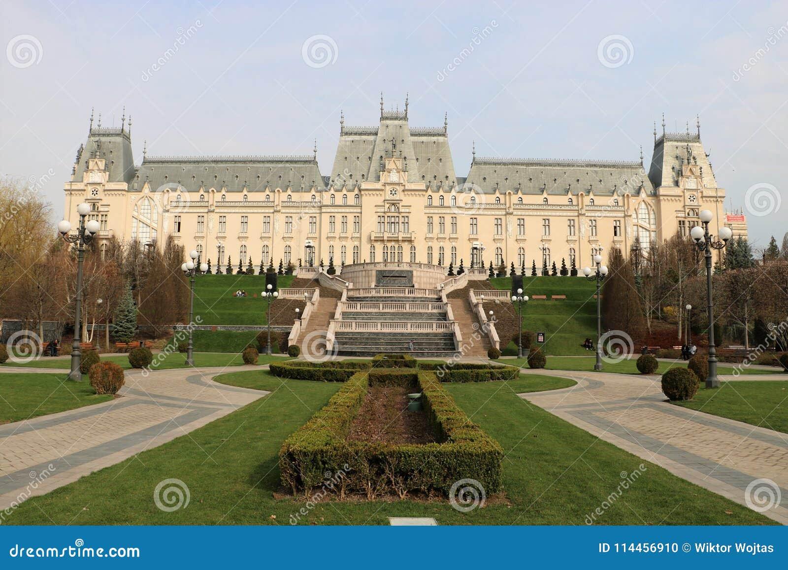 Palácio da cultura em Iasi, Romênia