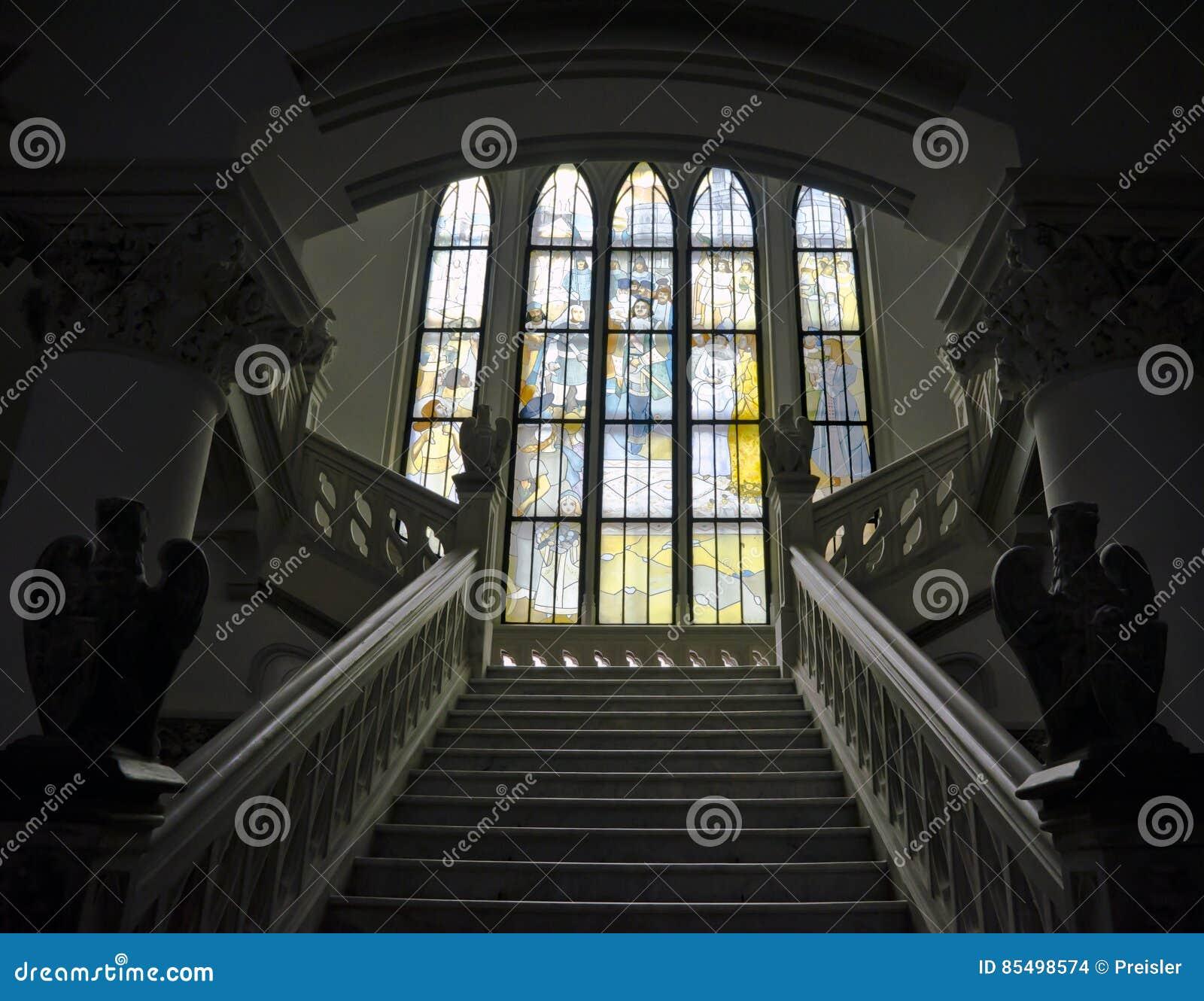 Palácio da cultura - interior