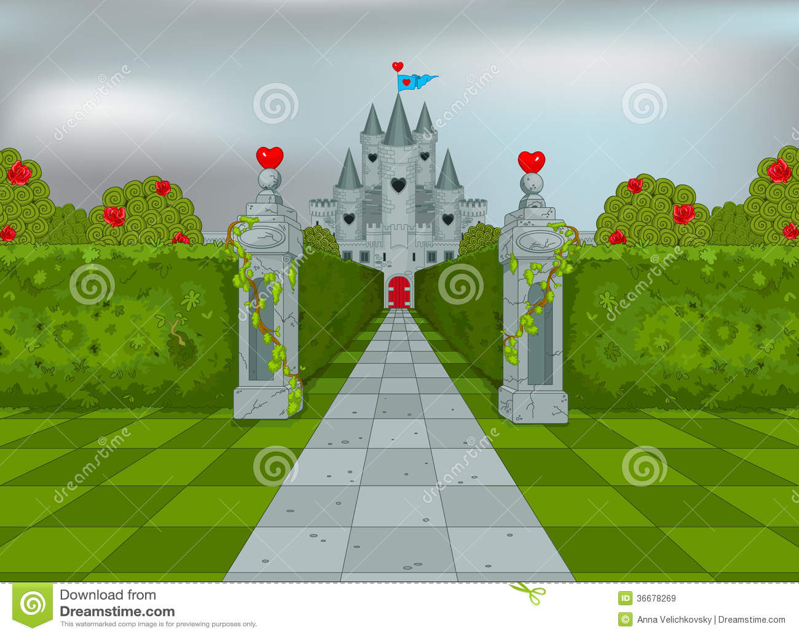 Palácio da rainha dos corações