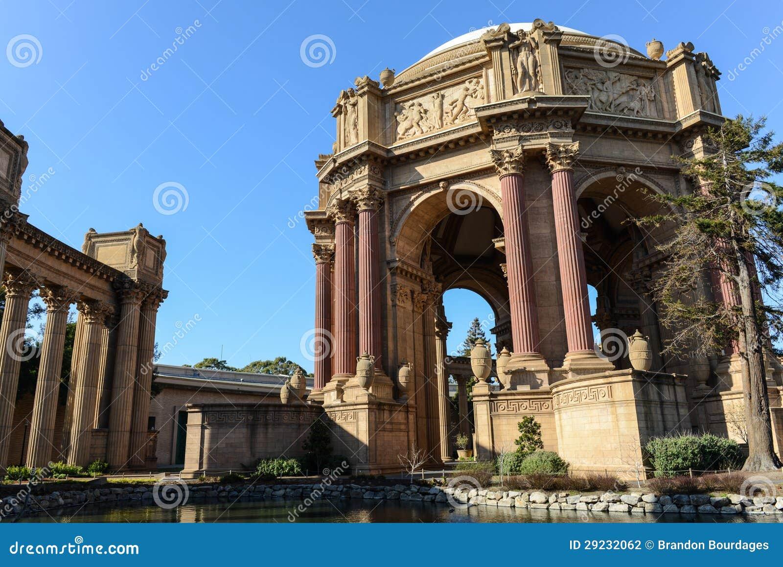 Download Palácio Das Belas Artes Em San Francisco Foto de Stock - Imagem de bonito, dourado: 29232062