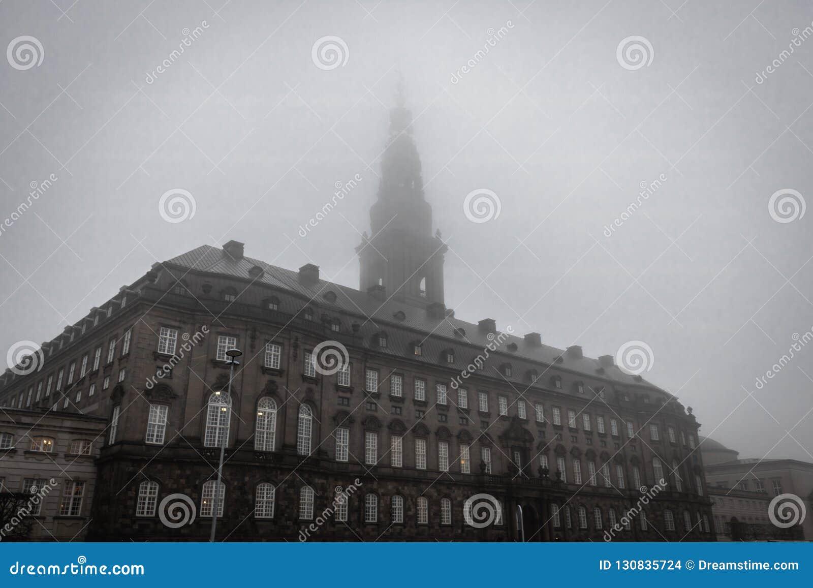 Palácio de Christiansborg em Copenhaga