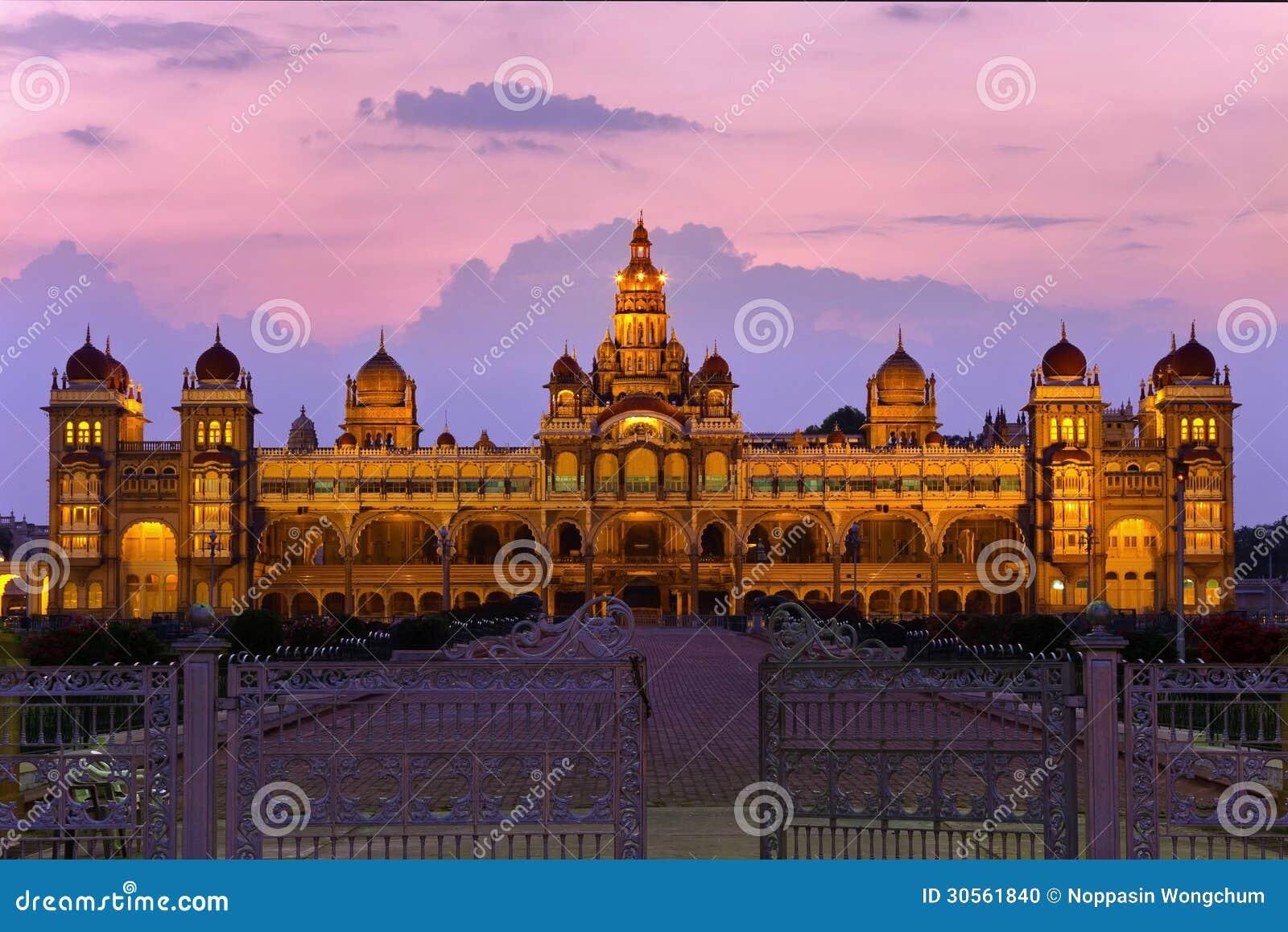Palácio de Mysore, Índia