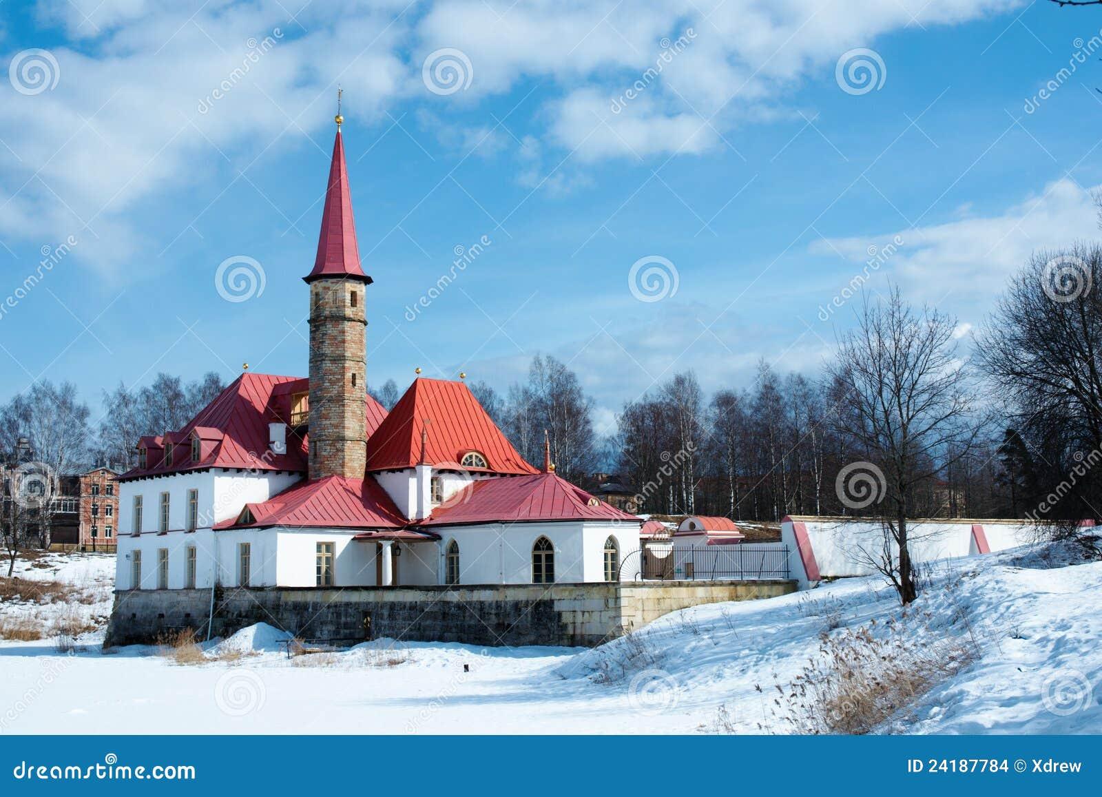 Palácio de Priorat em Gatchina