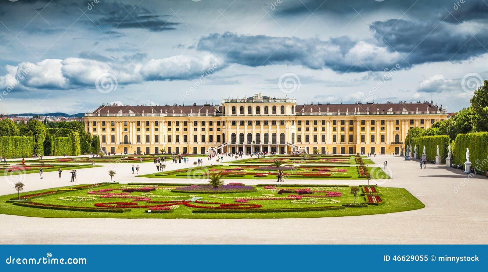Palácio de Schonbrunn em Viena, Áustria