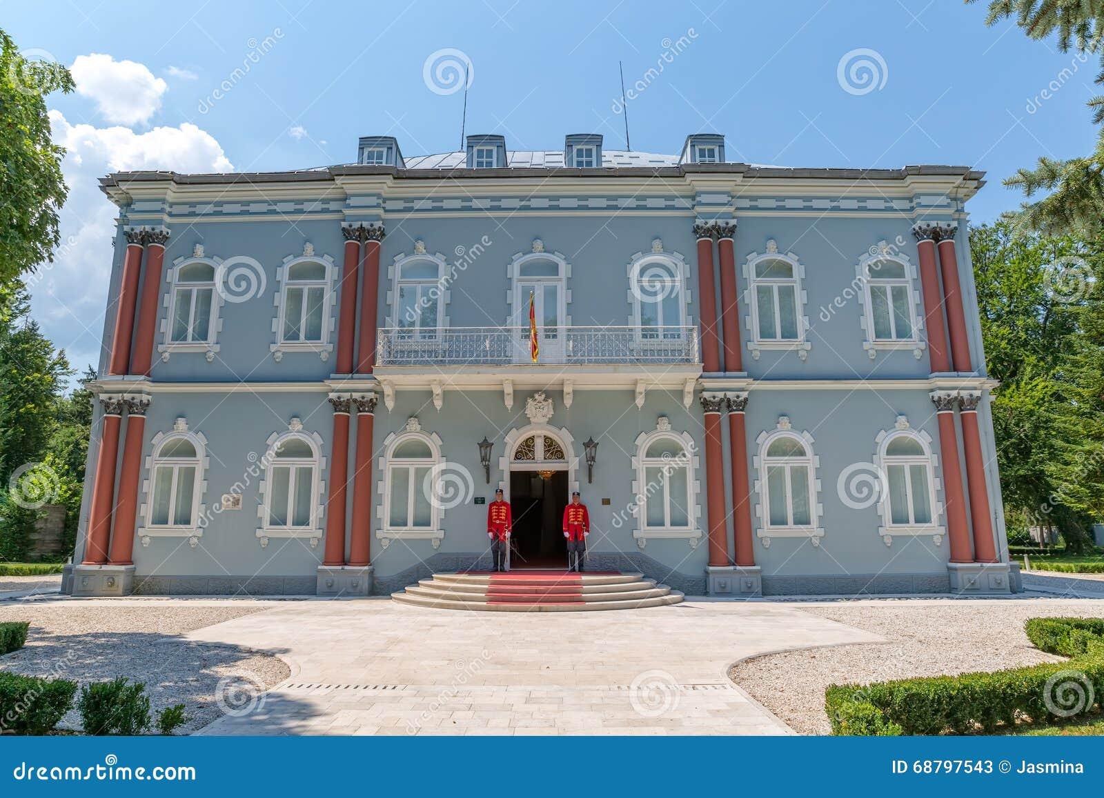 Palácio do azul de Cetinje