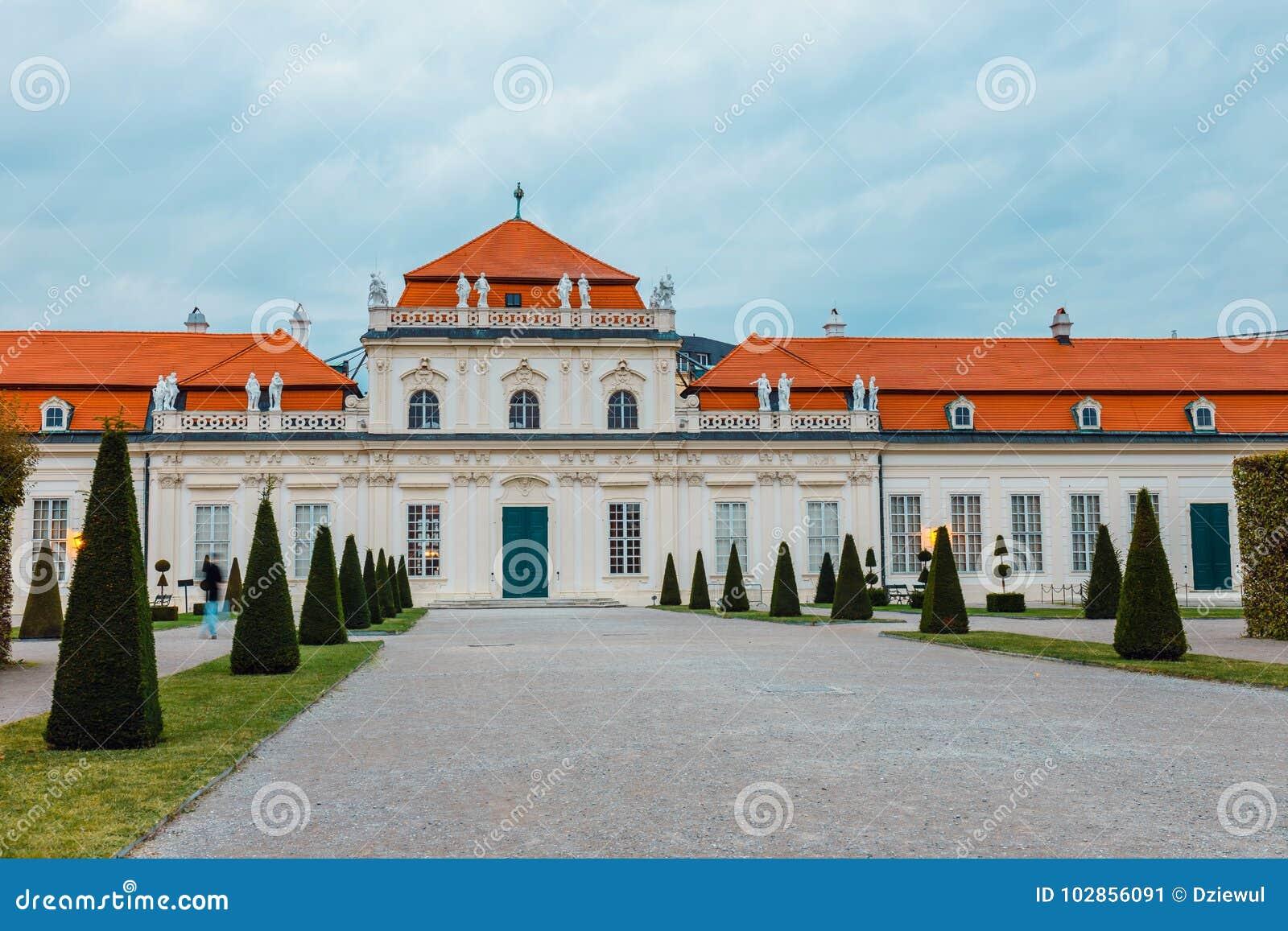 Palácio do Belvedere em Viena, Áustria