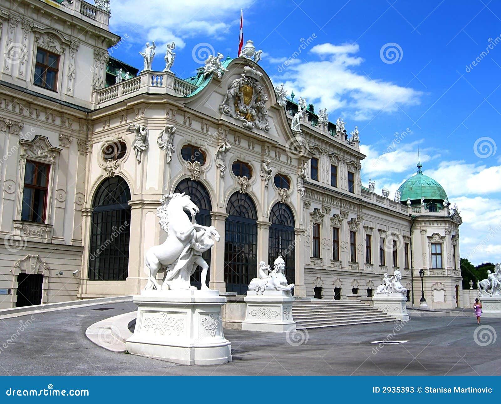 Palácio do Belvedere em Viena