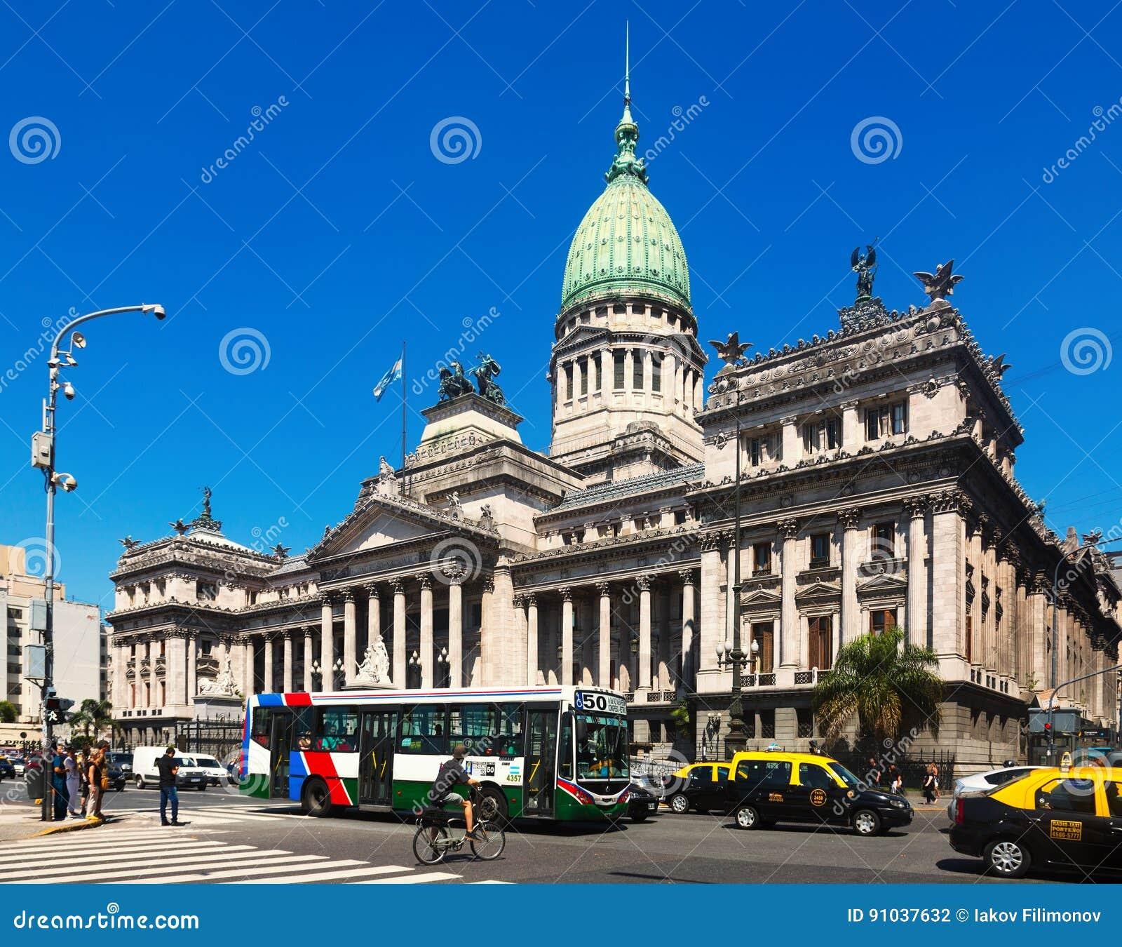 Palácio do congresso nacional de Argentina