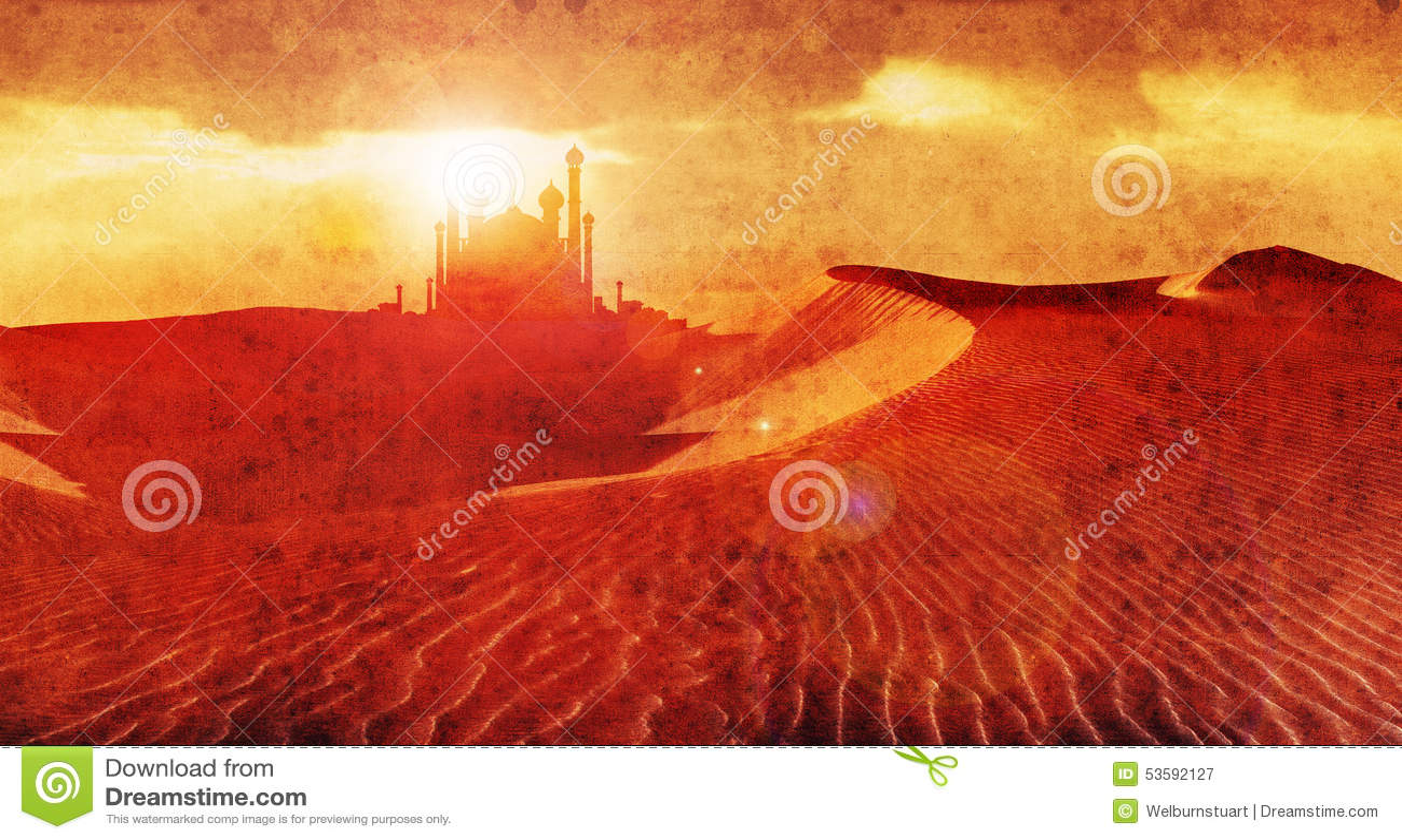 Palácio 3 do deserto