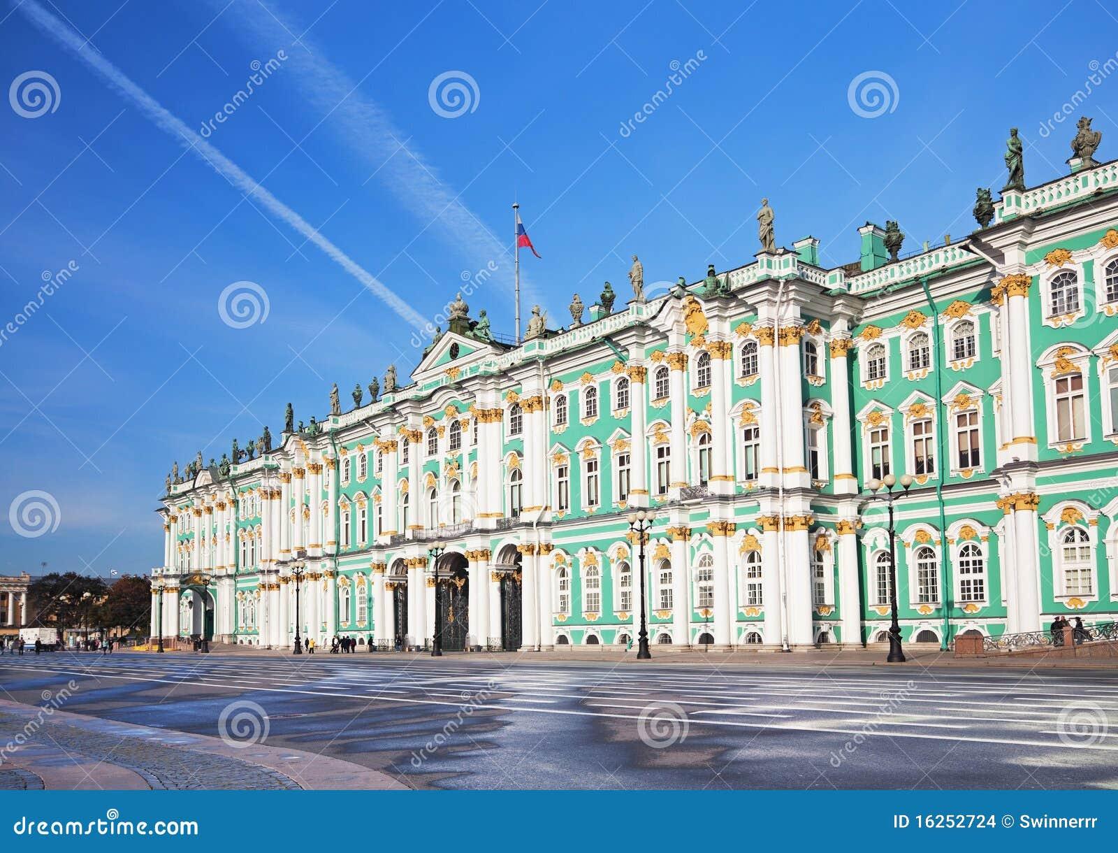 Palácio do inverno em St Petersburg