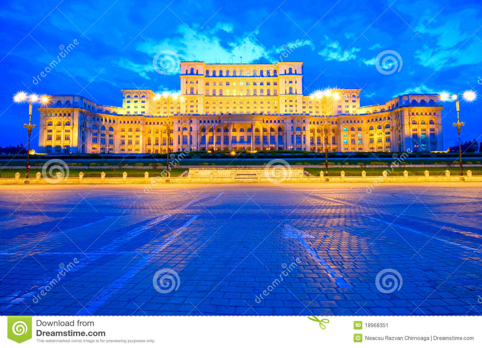 Palácio do parlamento, Bucareste