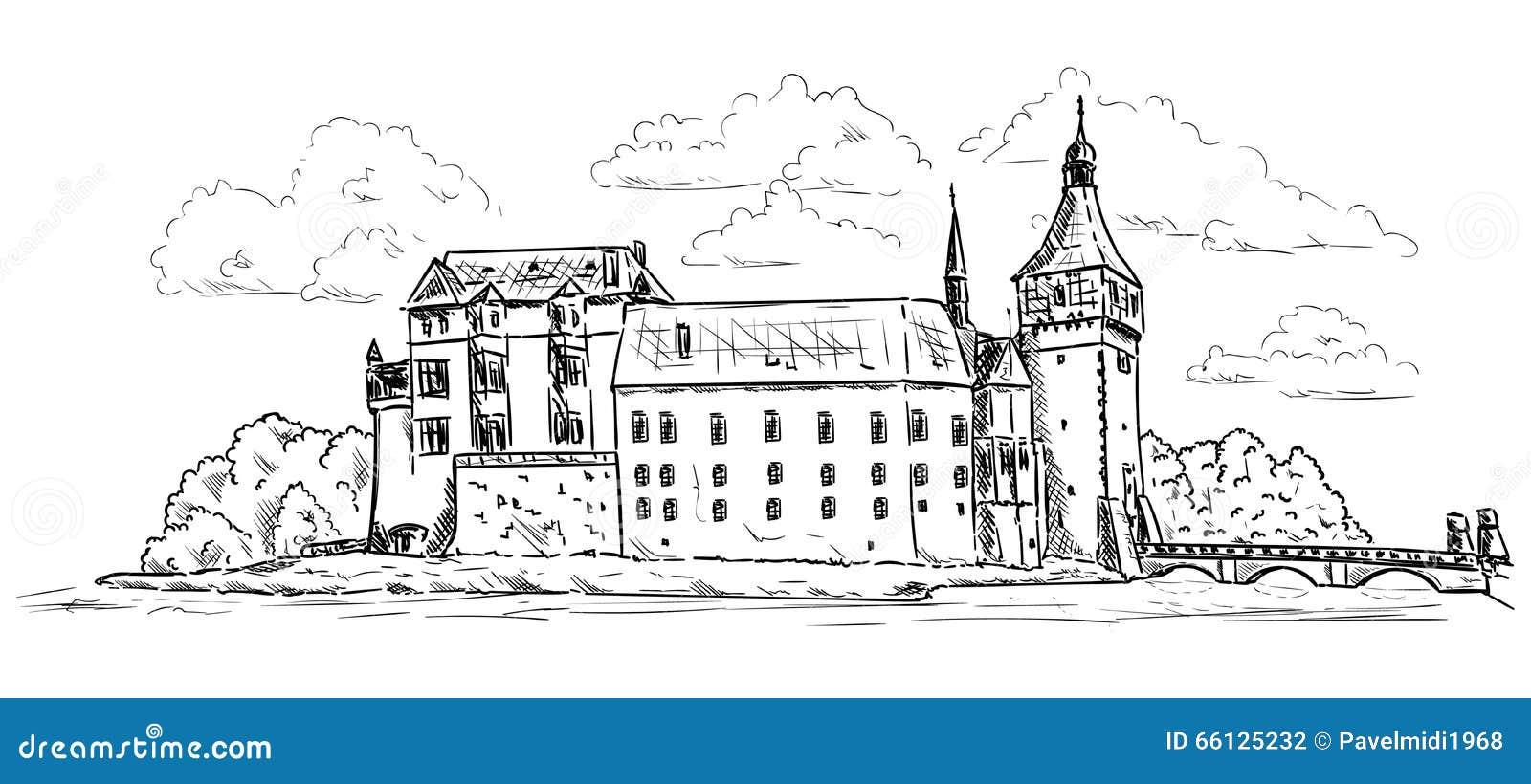 Palácio e castelo Blatna