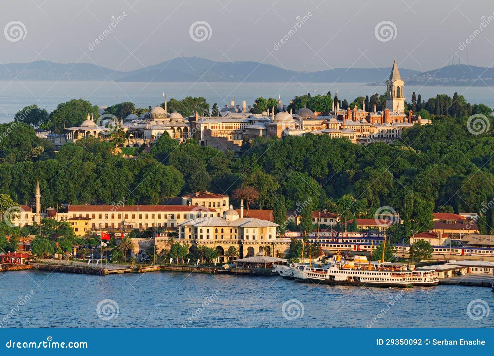 Palácio Istambul de Topkapi