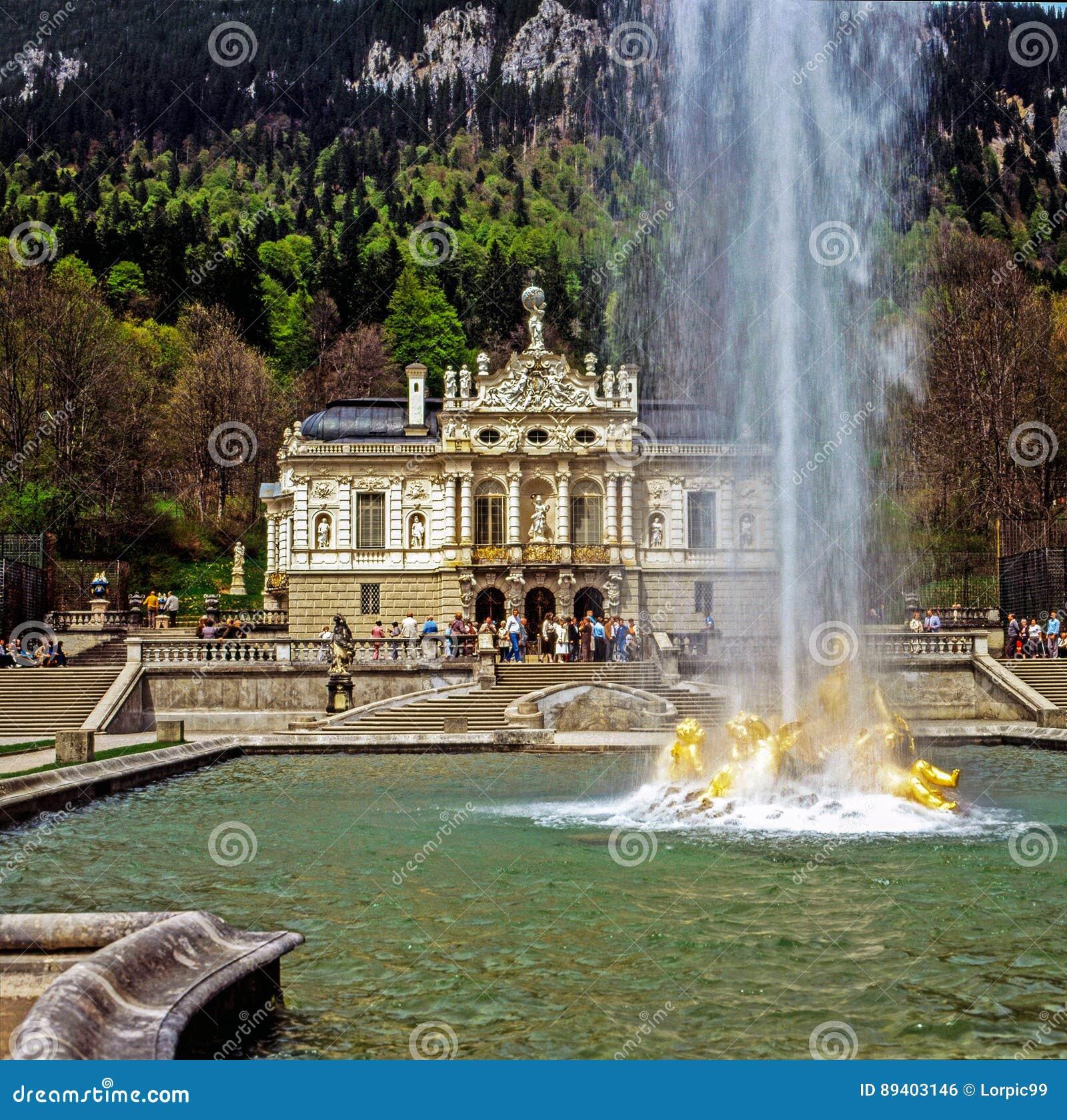 Palácio Linderhof, Alemanha