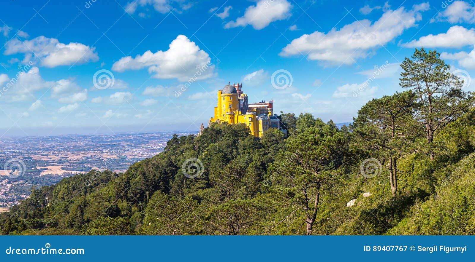 Palácio nacional de Pena em Sintra
