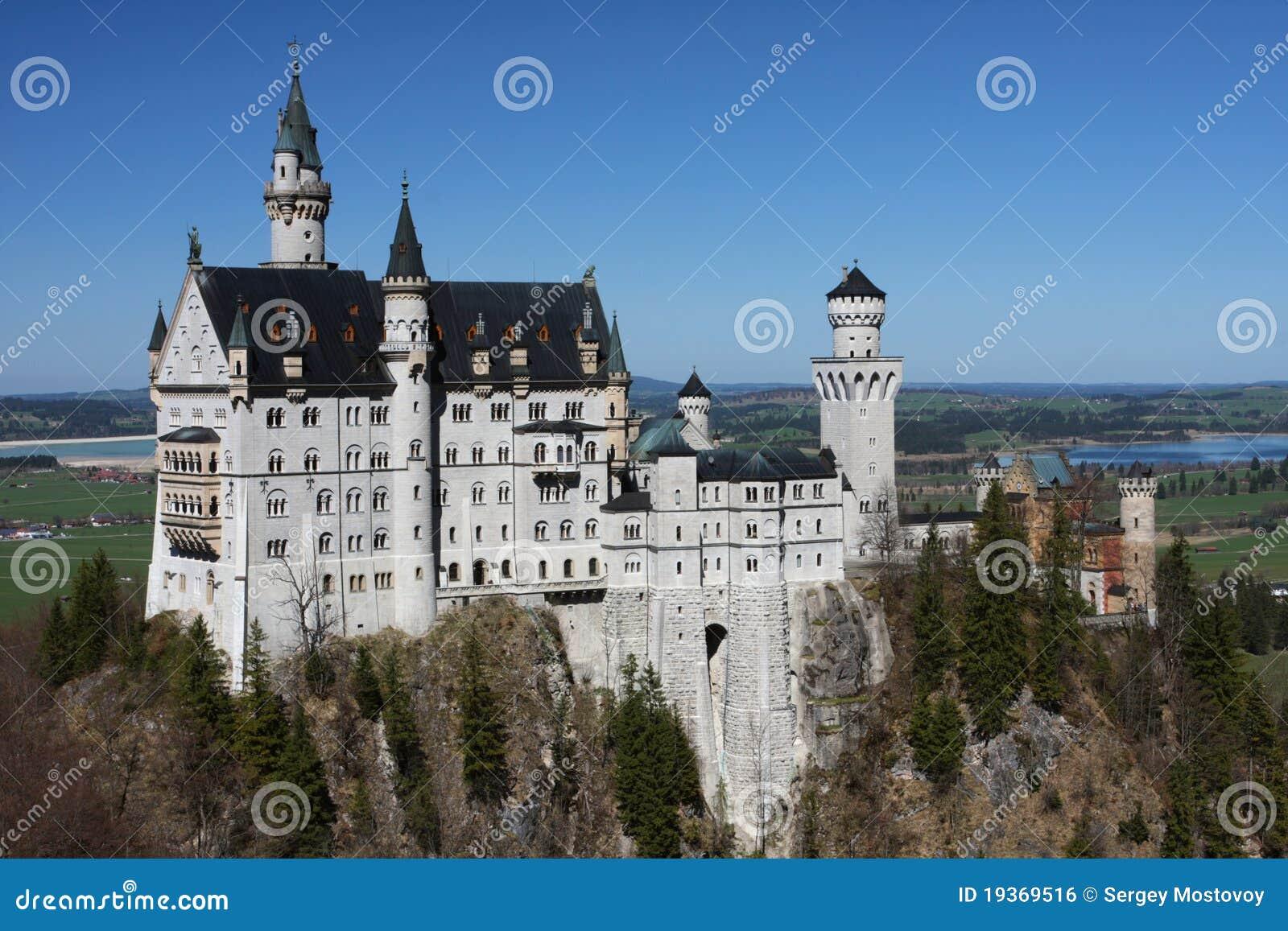 Palácio Neuschwanstein, Baviera, Alemanha