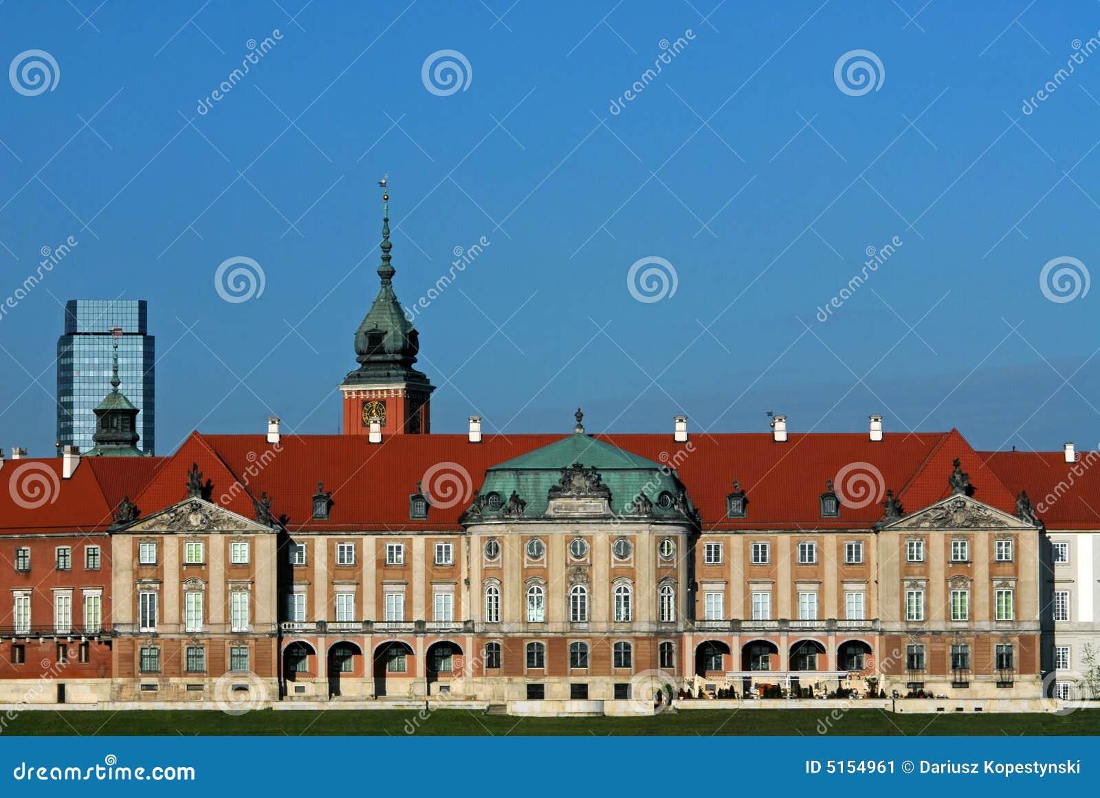 Palácio real em Varsóvia