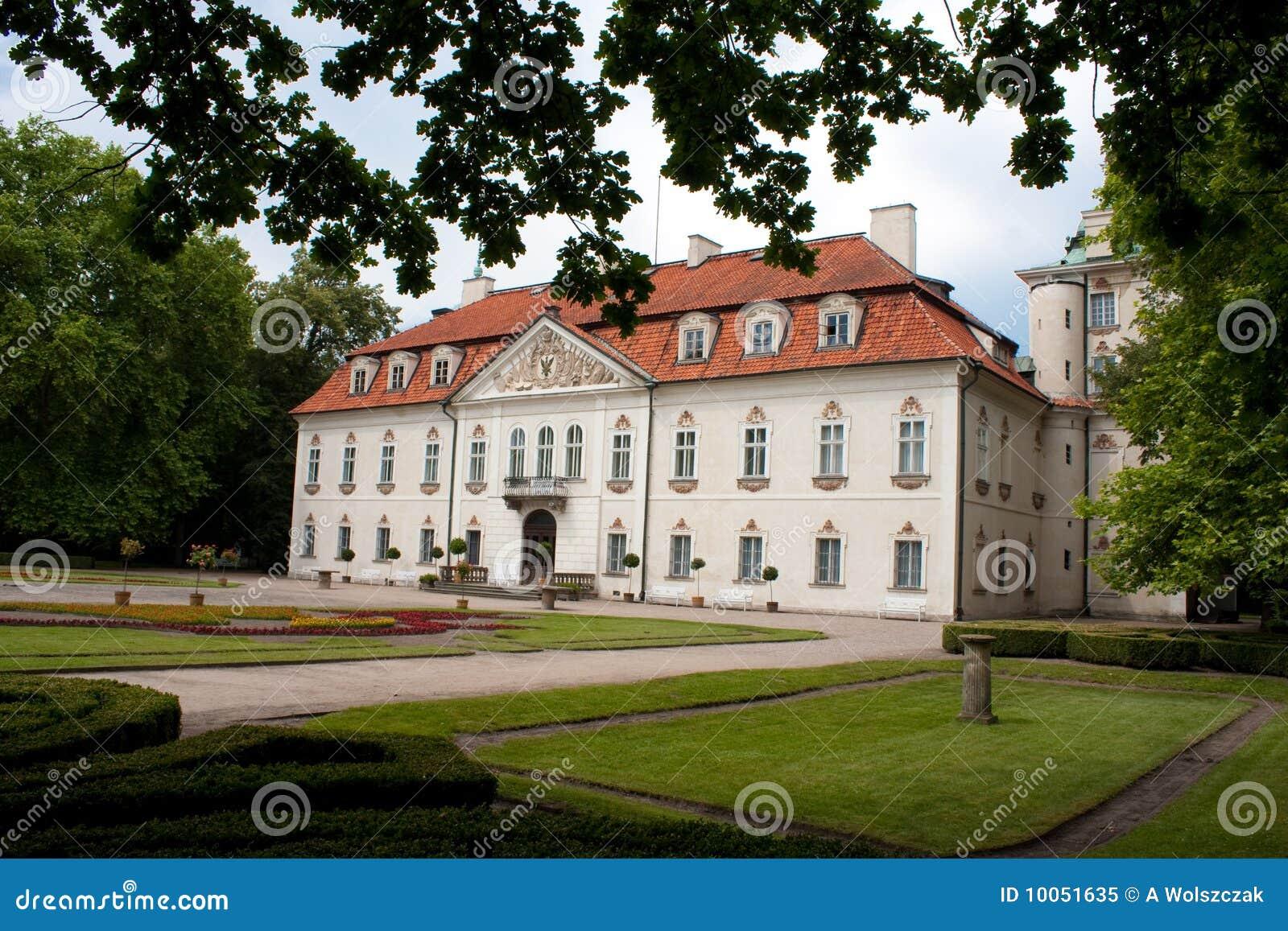 Palácio real no nieborow