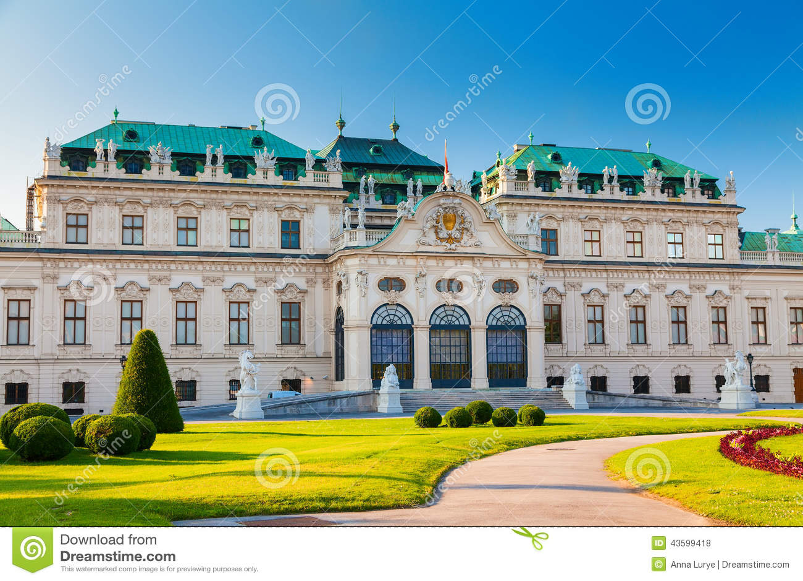 Palácio superior do Belvedere