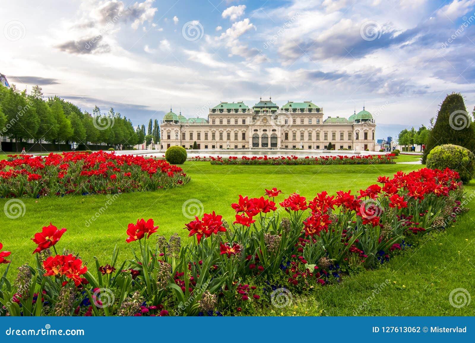 Palácio superior do Belvedere, Viena, Áustria