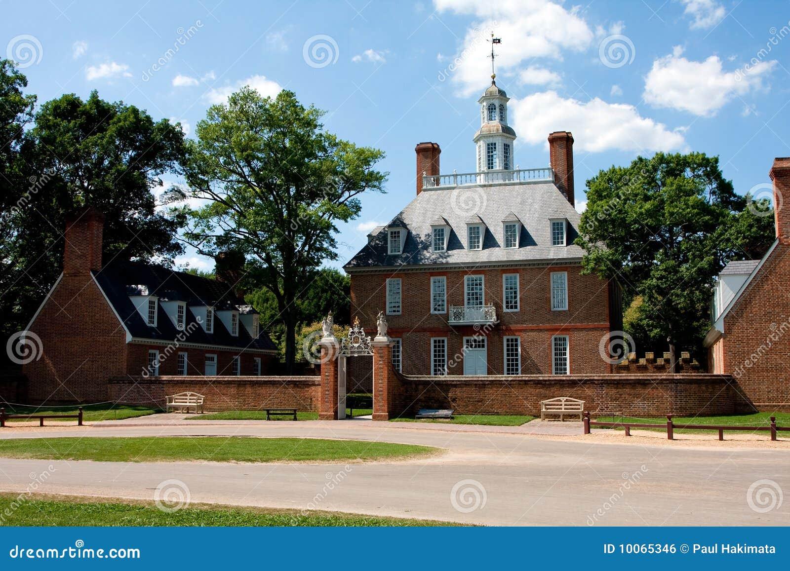 Palácio Williamsburg do regulador