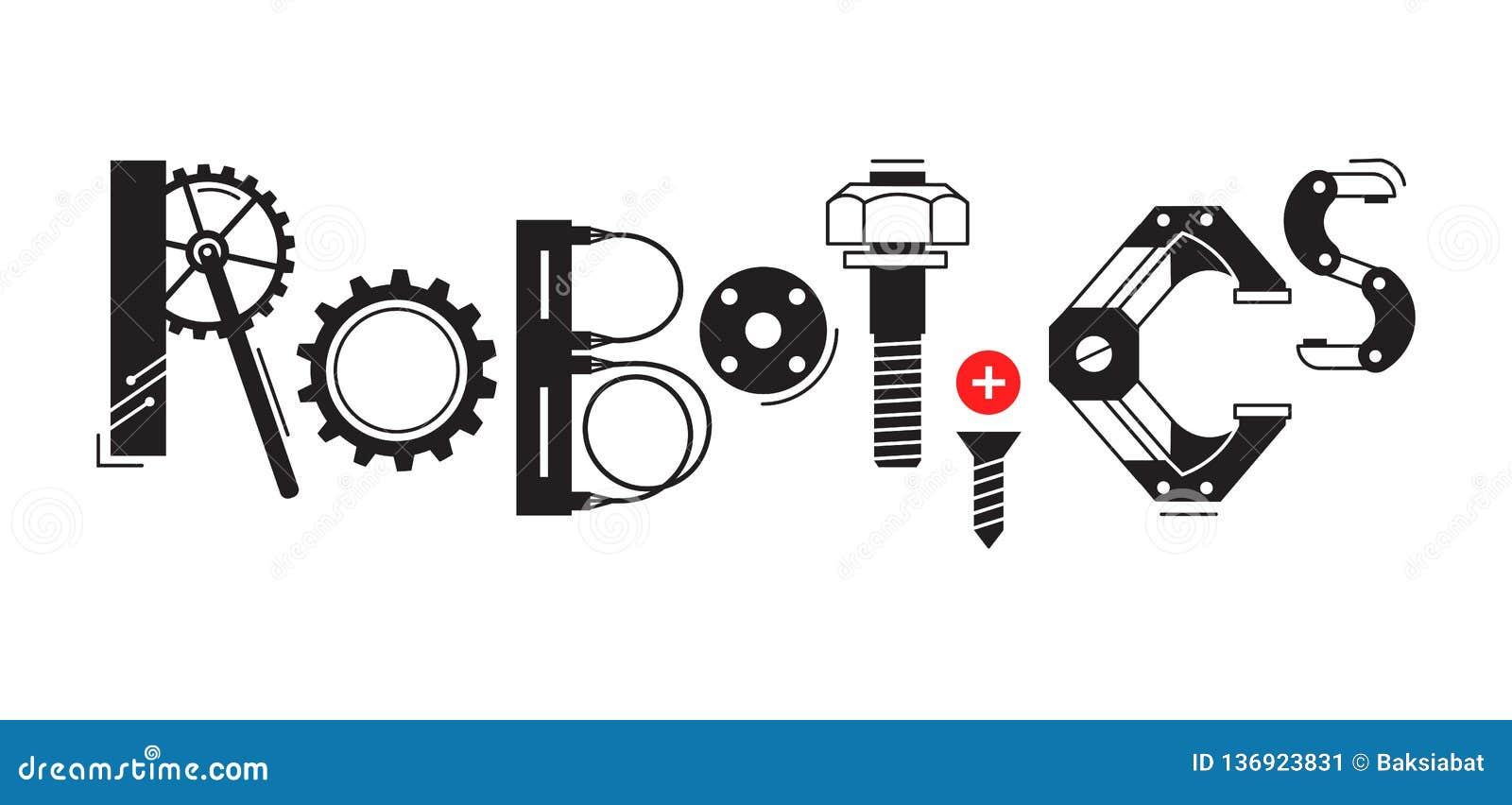 Robótica Ilustraciones Stock, Vectores, Y Clipart
