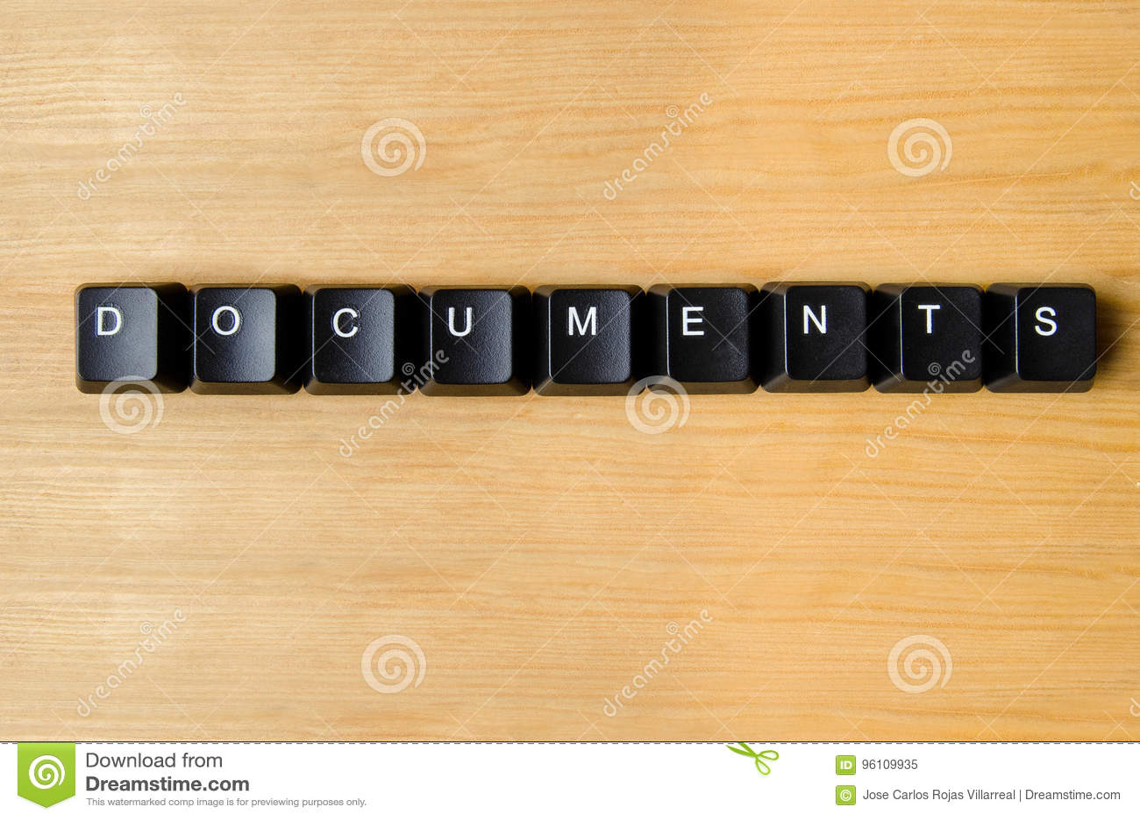 Palabra de los documentos