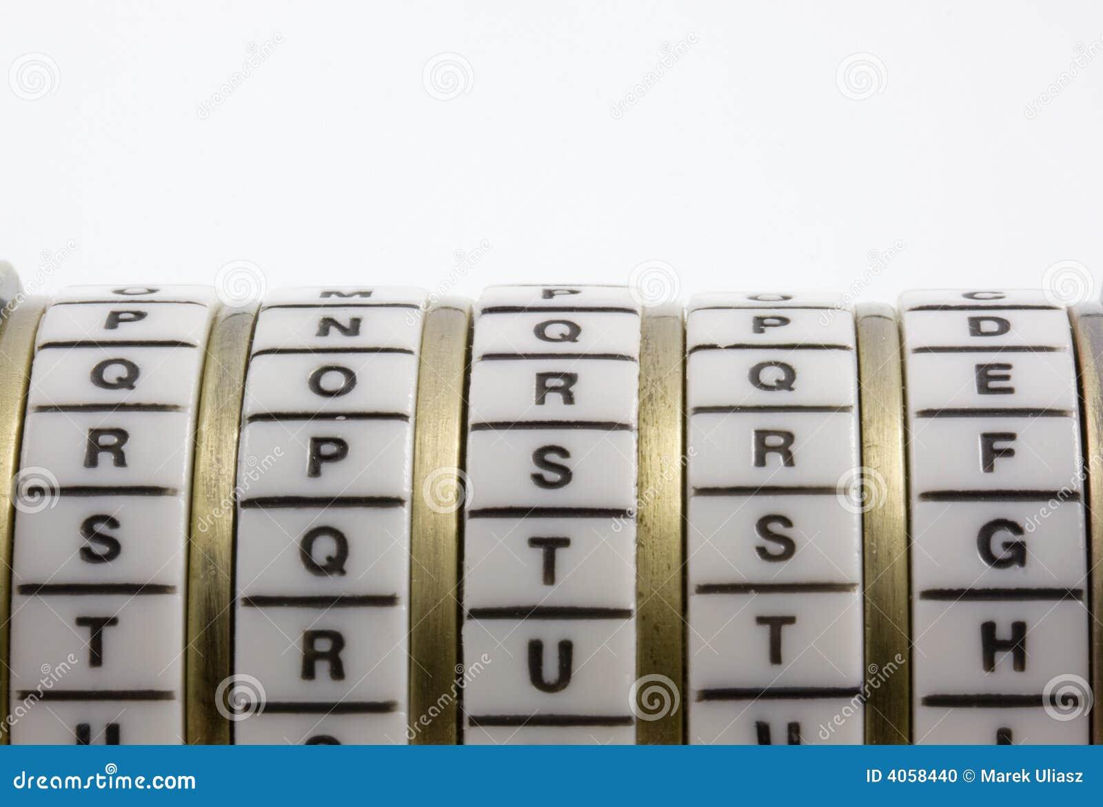 Palabra de paso, palabra clave o combinación - verdad. Cryptex