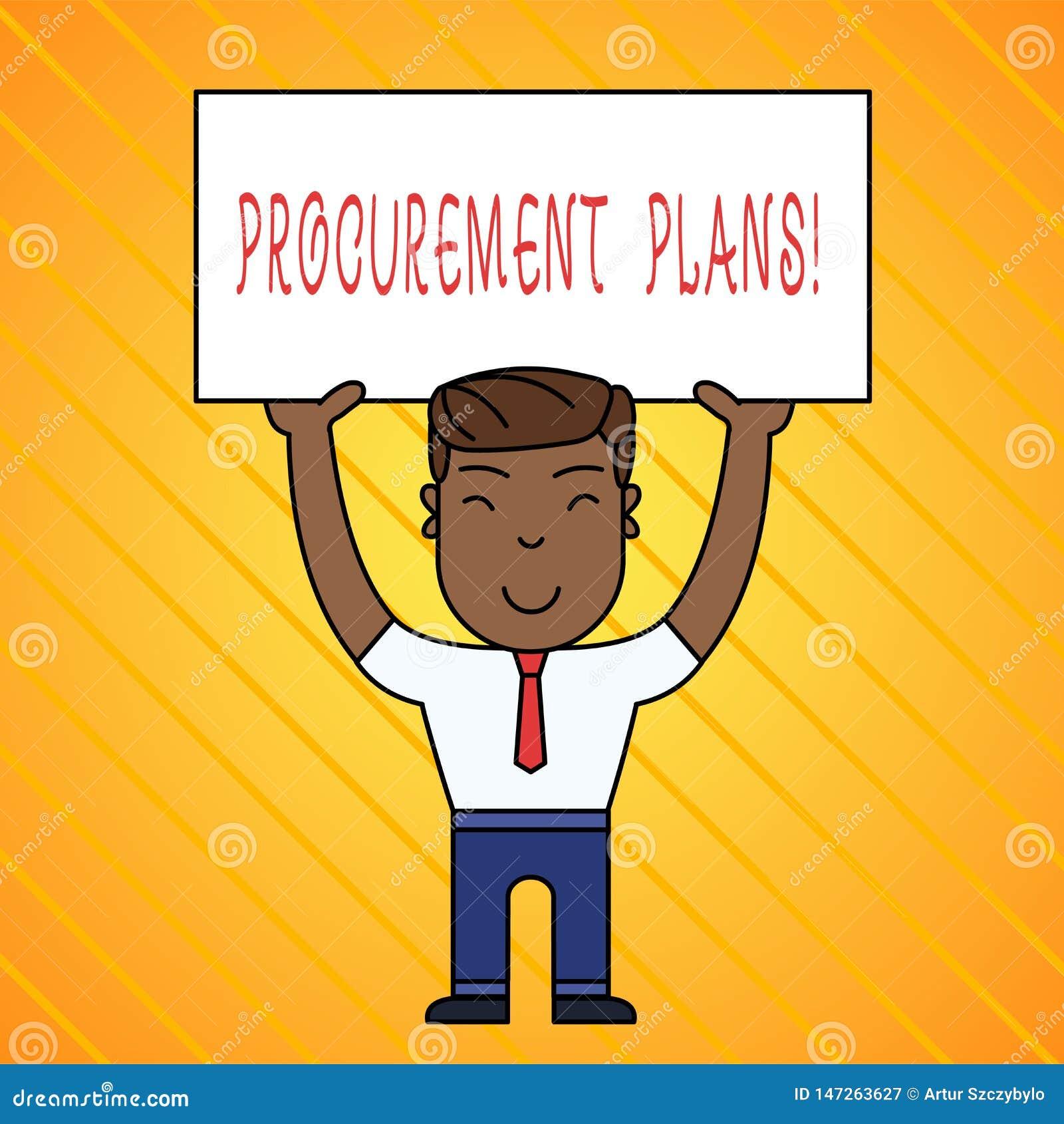 Palabra que escribe planes de la adquisici?n del texto Concepto del negocio para determinar los calendarios para su adquisici?n