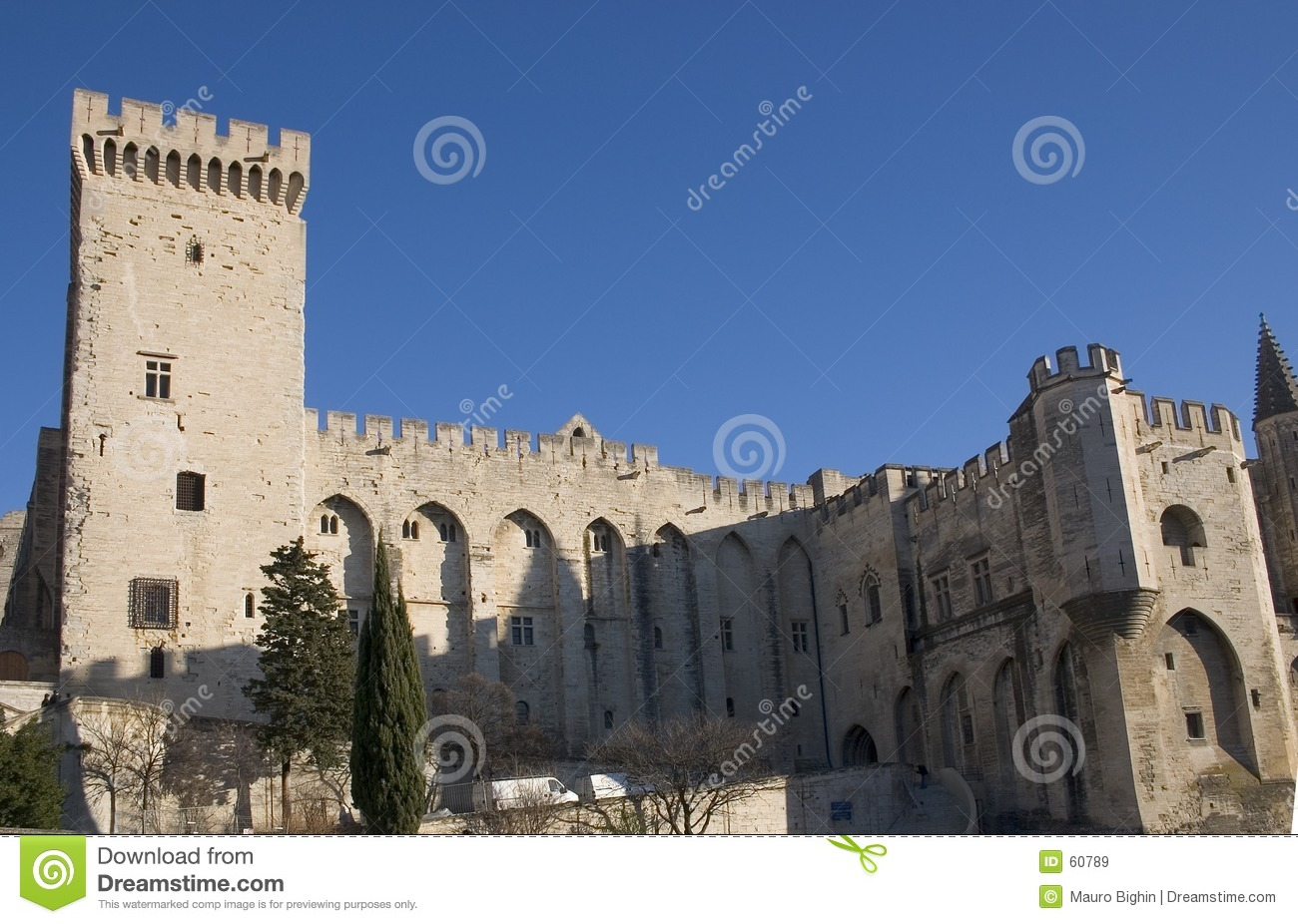 Download Palace - Avignon - France De Papes Image stock - Image du touriste, historique: 60789