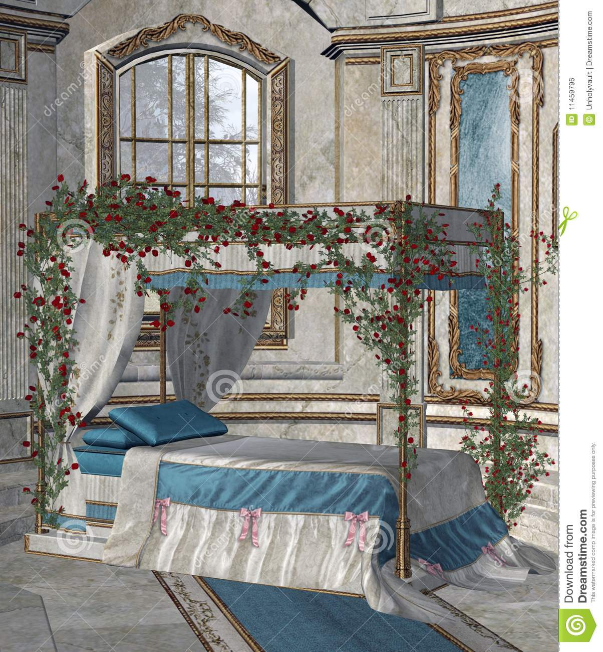 palace bedroom 2 royalty free stock image   image 11459796