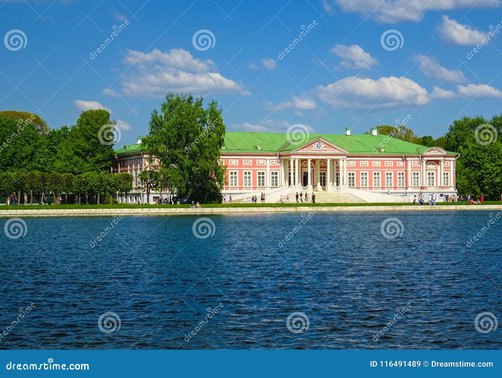Palace of Sheremetyevs in Kuskovo Park