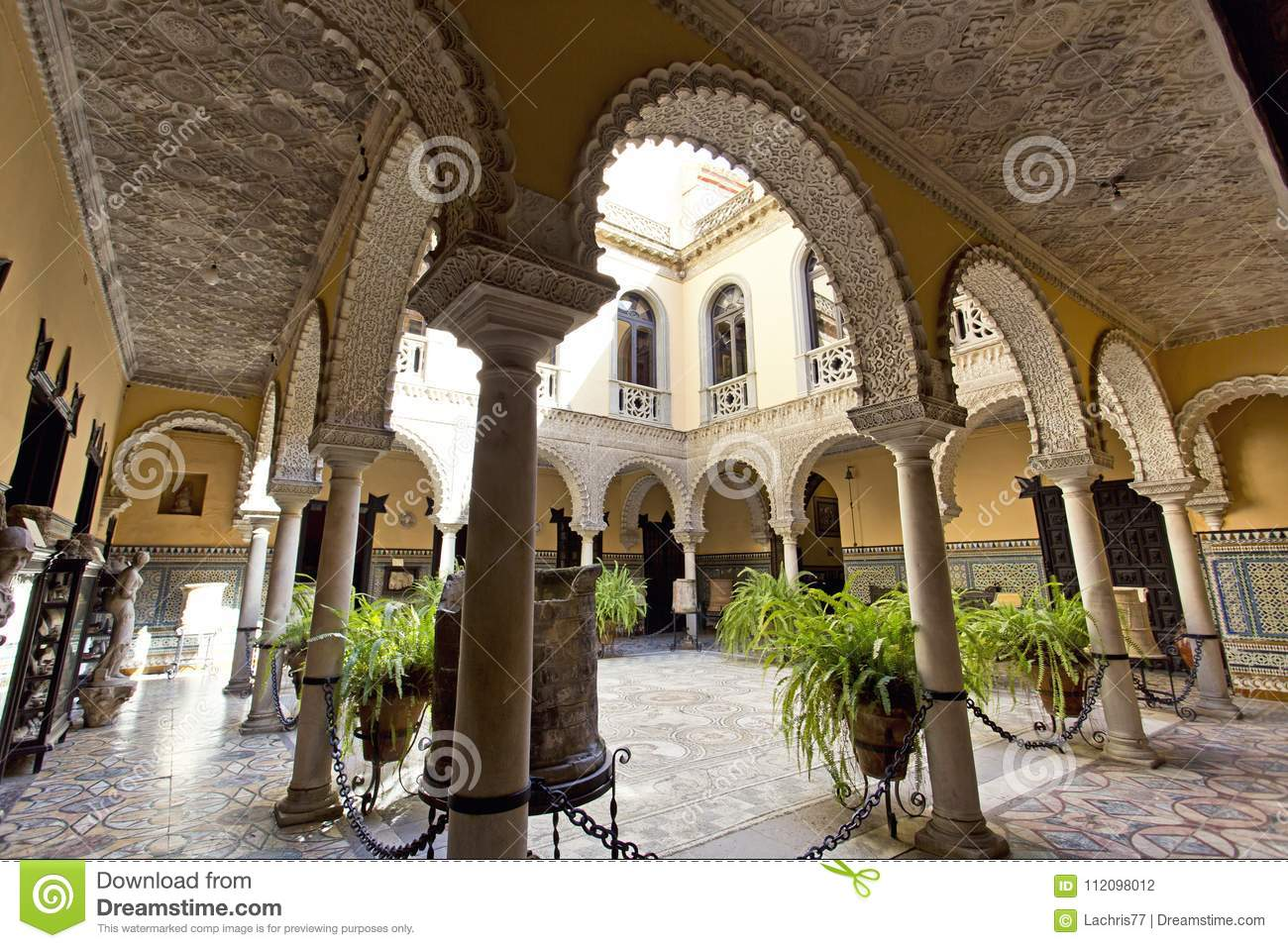Palace of the Countess of Lebrija in Seville