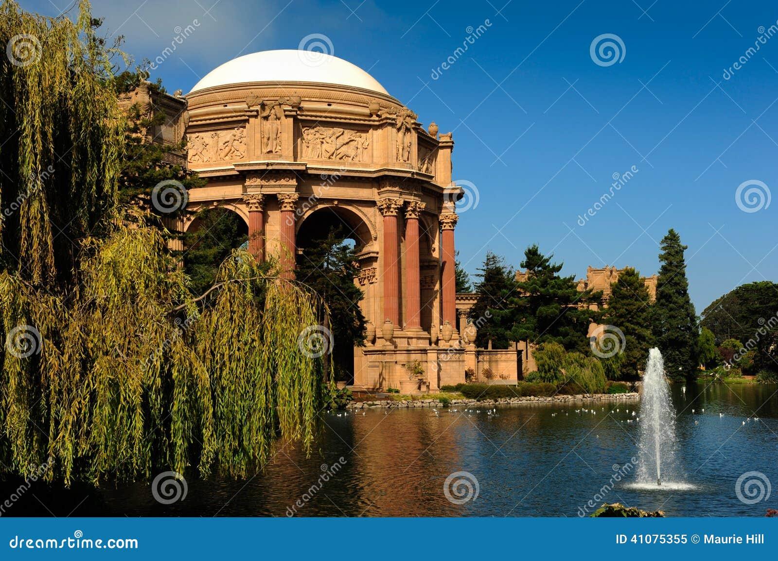 Palace Of Fine Arts San Francisco Stock Image Image Of Beaux