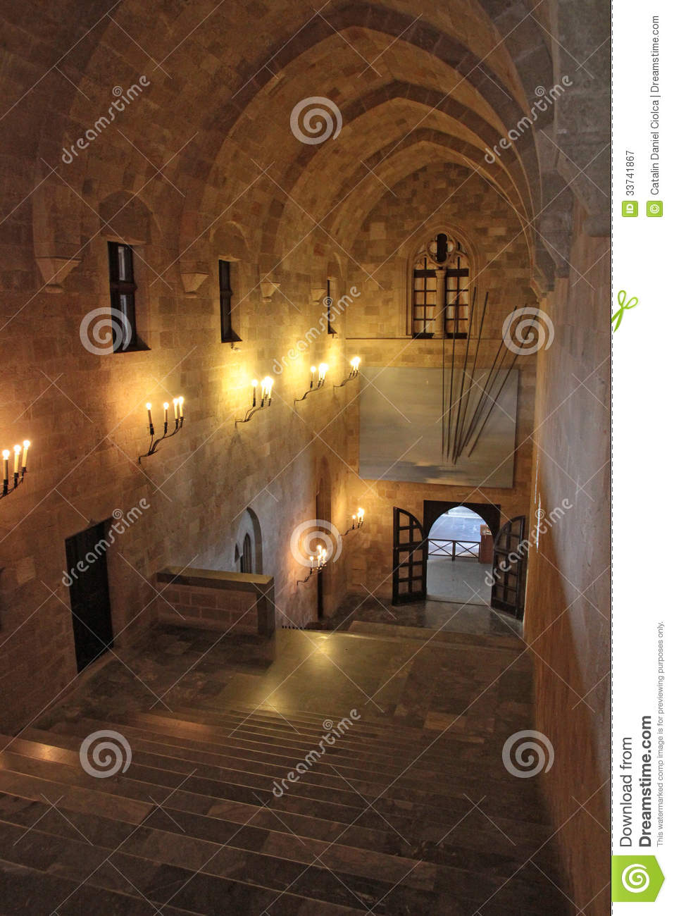The Palace of Grand Masters, Rhodes, Greece