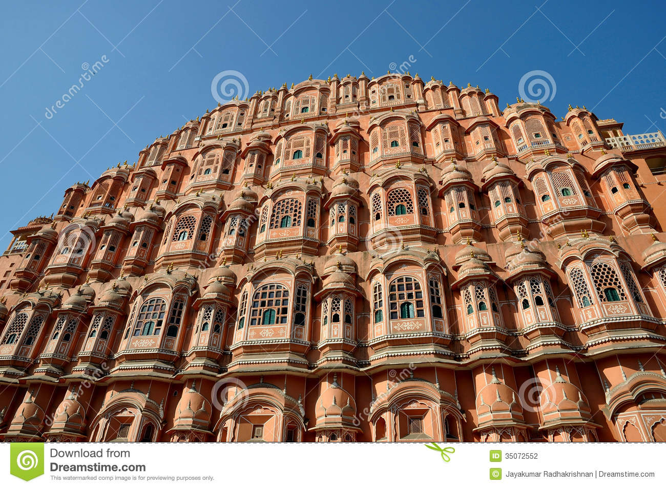 Palace Hawa Mahal Stock Photography Image