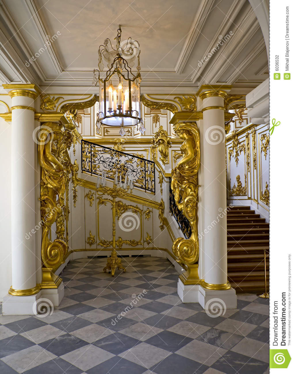 Palace interior 1 stock photo image of russia entrance 6036532 - Interior images ...