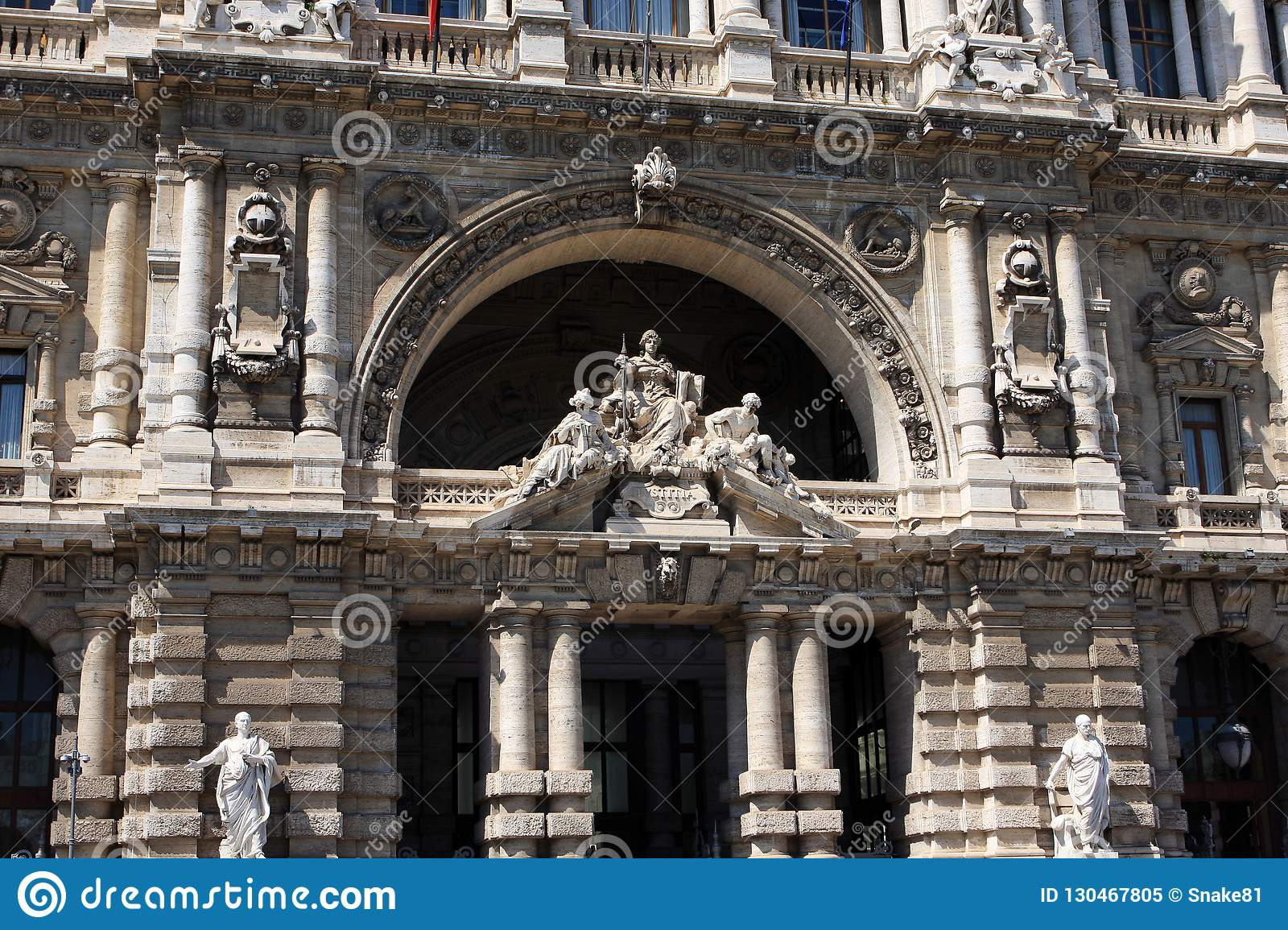 The Palace of Justice, Rome, Italy