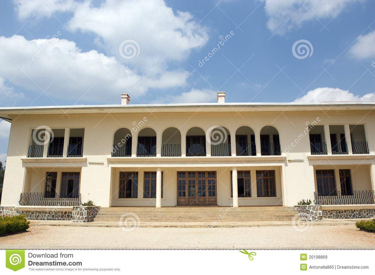 Palace For King Mutara III Rudahigwa In Nyanza It Was Built As A But He Never Had Time To Move Died Before Occupying And
