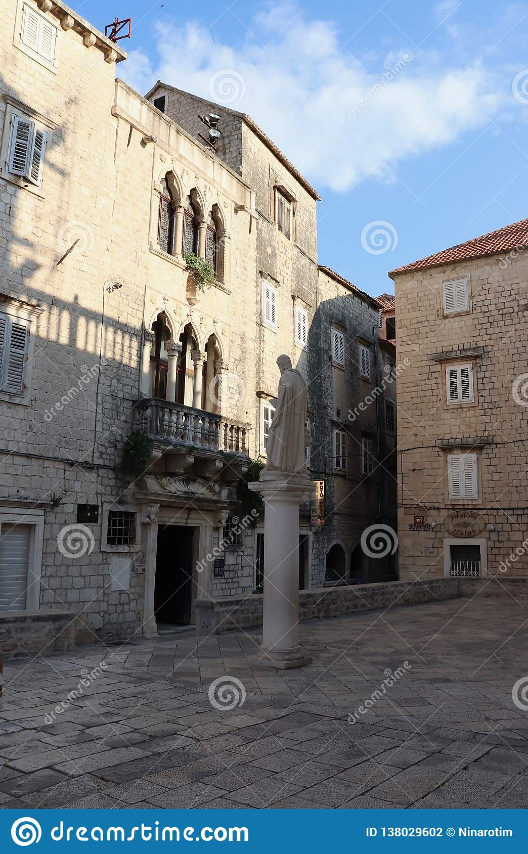 Palace in the old city of Trogir