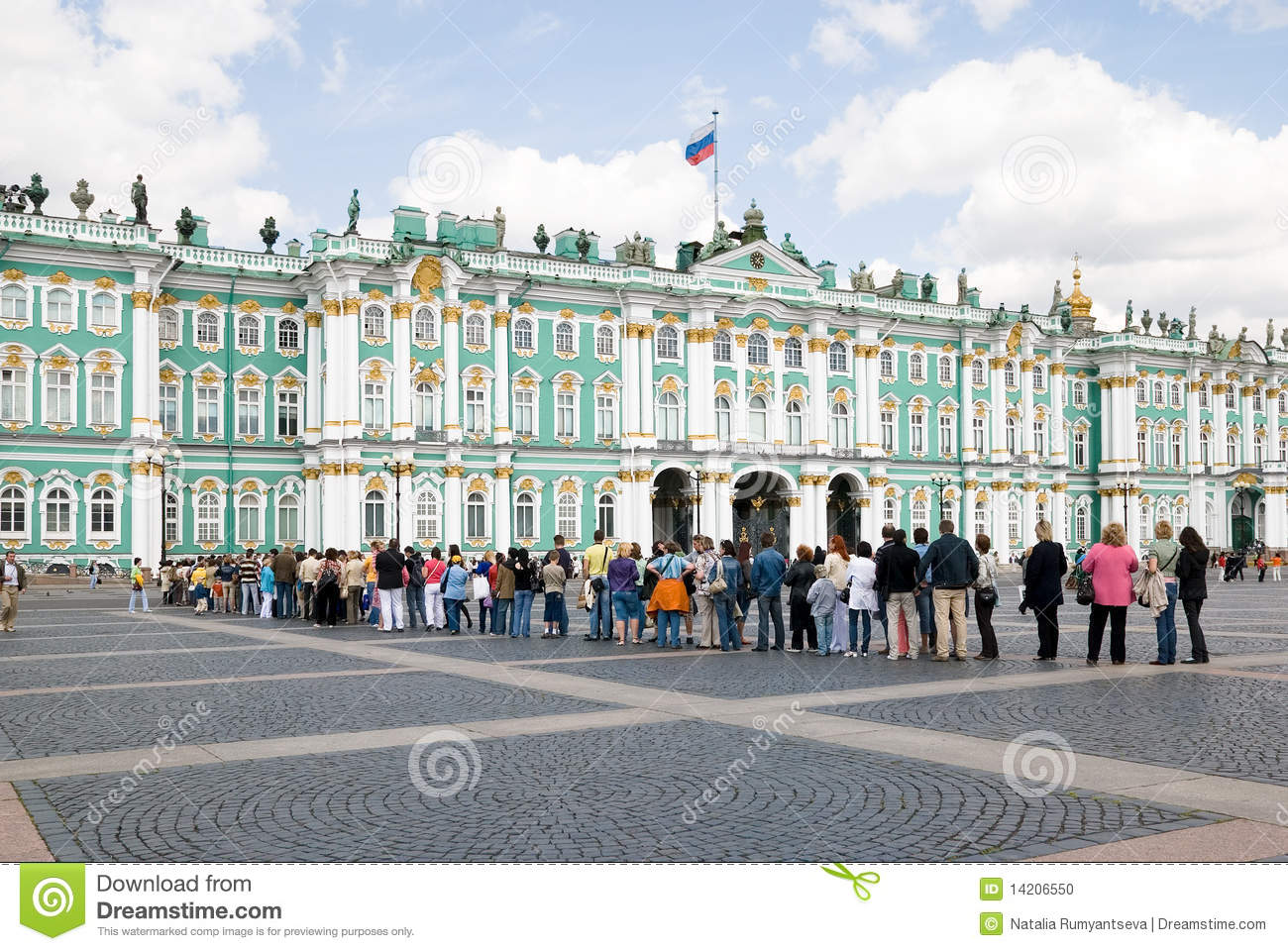 Palace square hermitage winter palace st petersburg russia