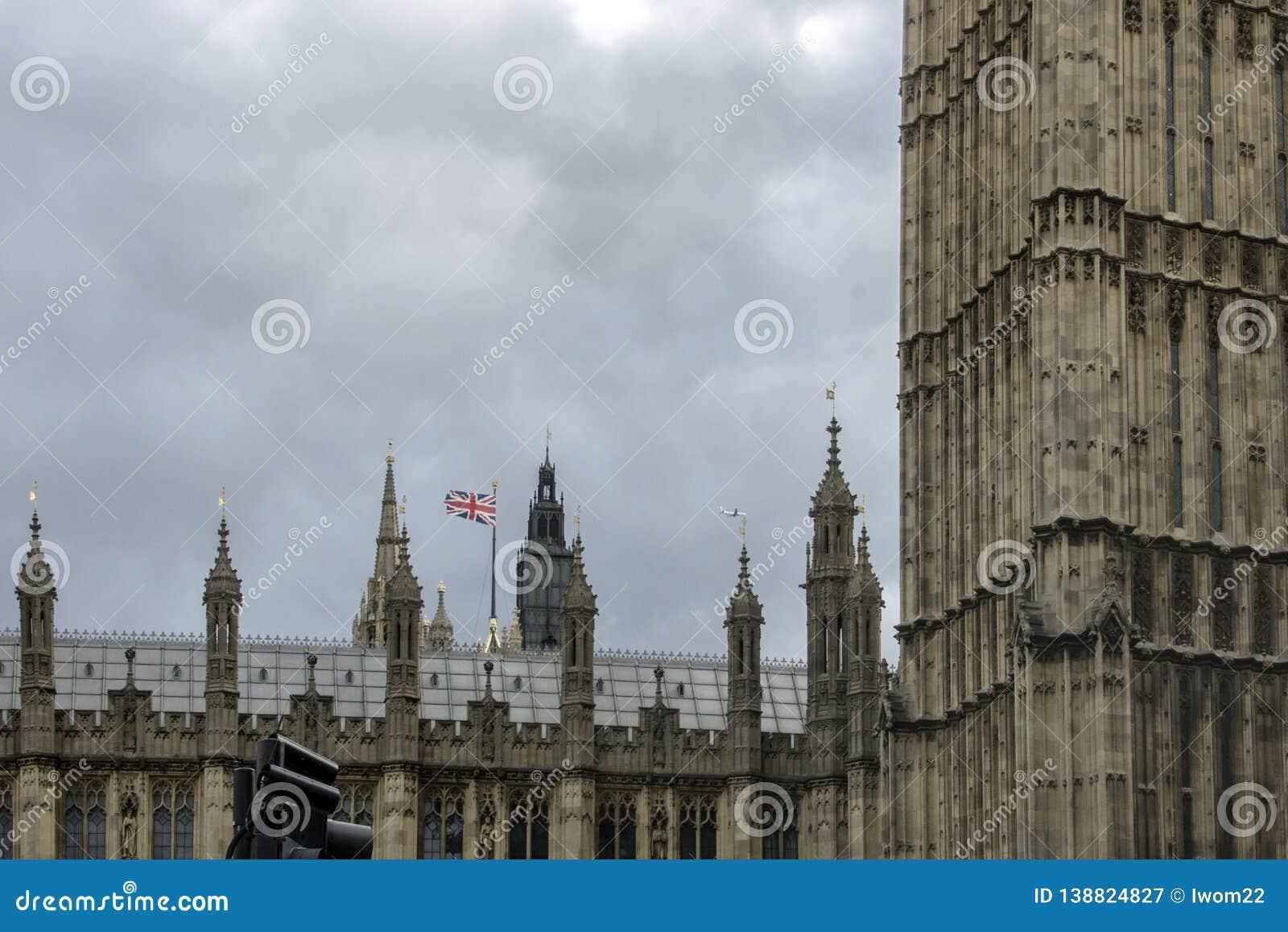 The Palace of Westminster. London, England, UK.