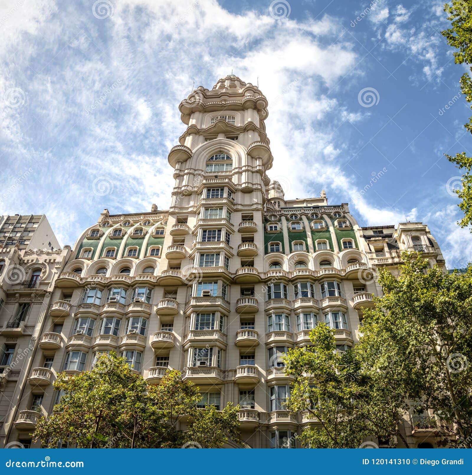 Barolo Palace building - Buenos Aires, Argentina